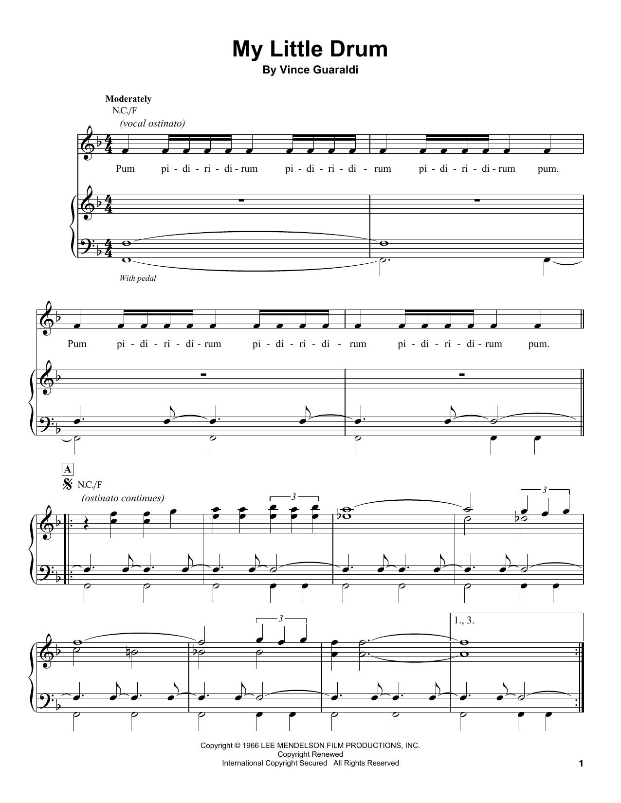 My Little Drum (Piano Transcription)