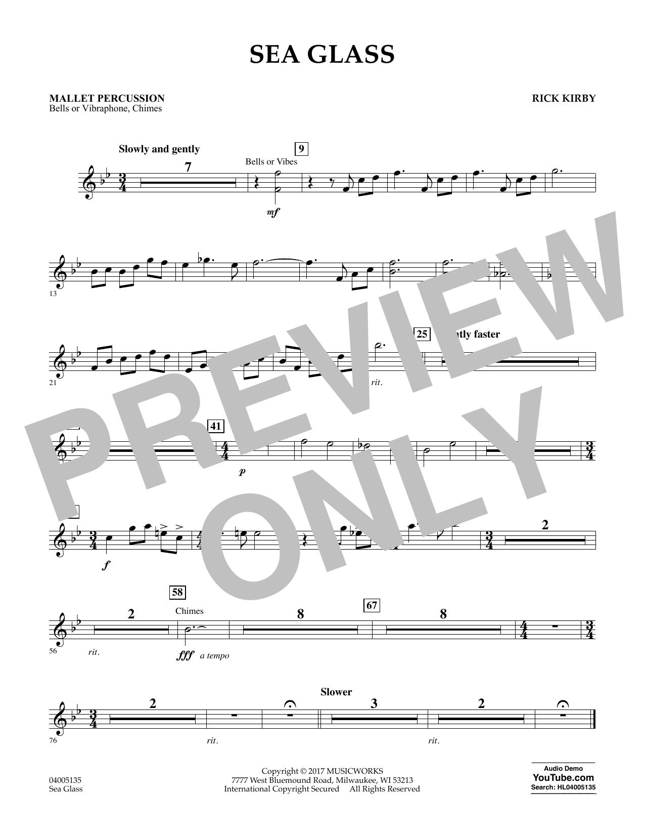 Sea Glass - Mallet Percussion (Concert Band)