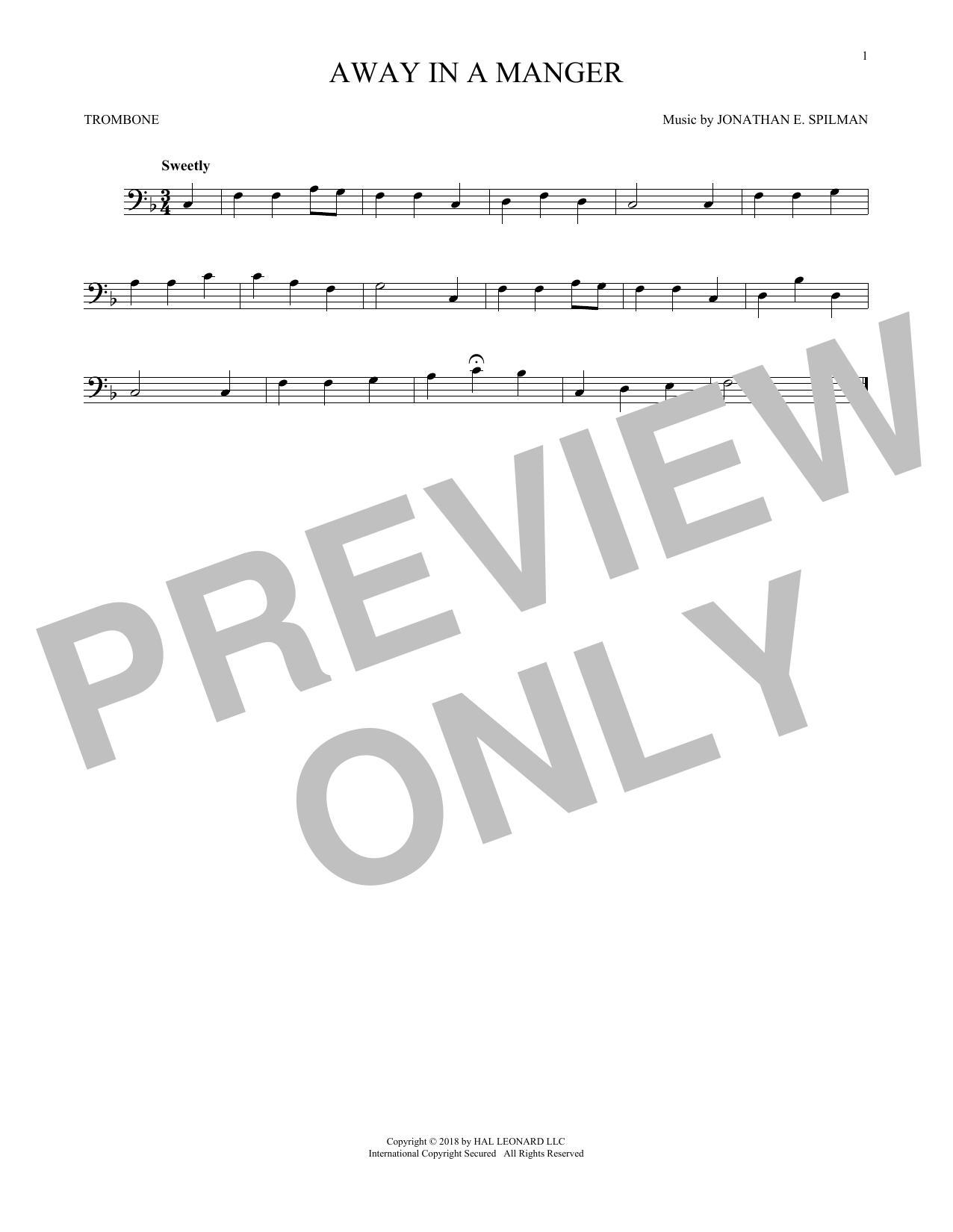 Away In A Manger (Trombone Solo)