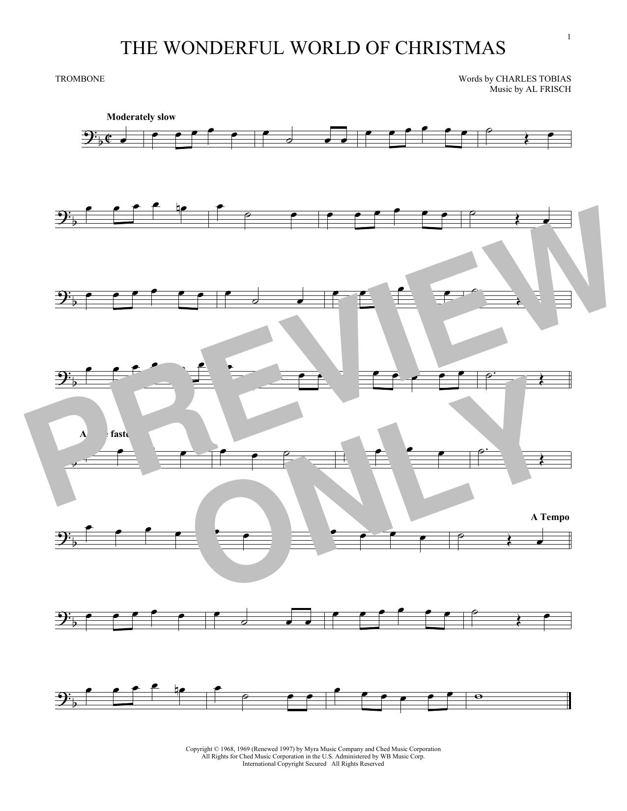 The Wonderful World Of Christmas (Trombone Solo)