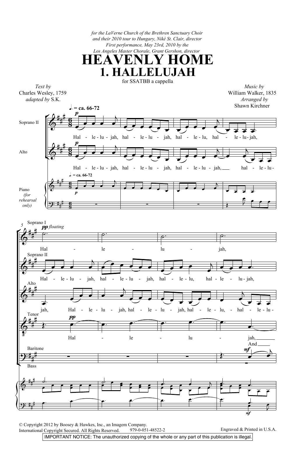 Heavenly Home (SATB Choir)