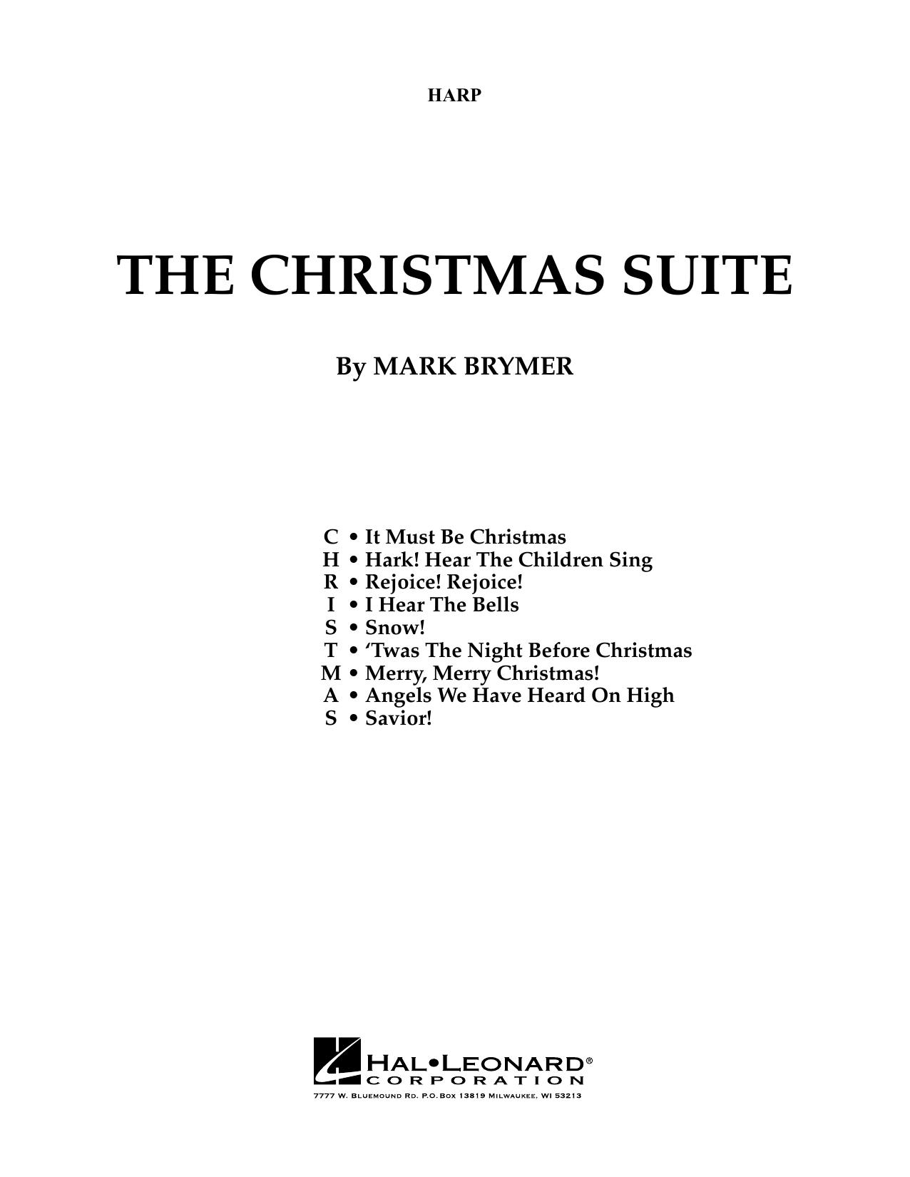The Christmas Suite (For SSA Choir & Soloist) - Harp (Choir Instrumental Pak)