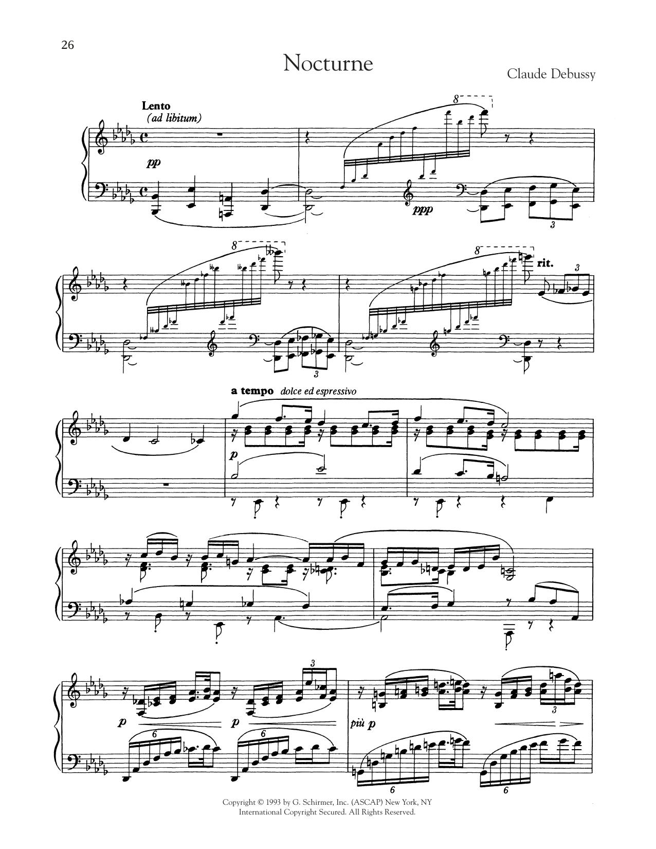 Nocturne (Piano Solo)