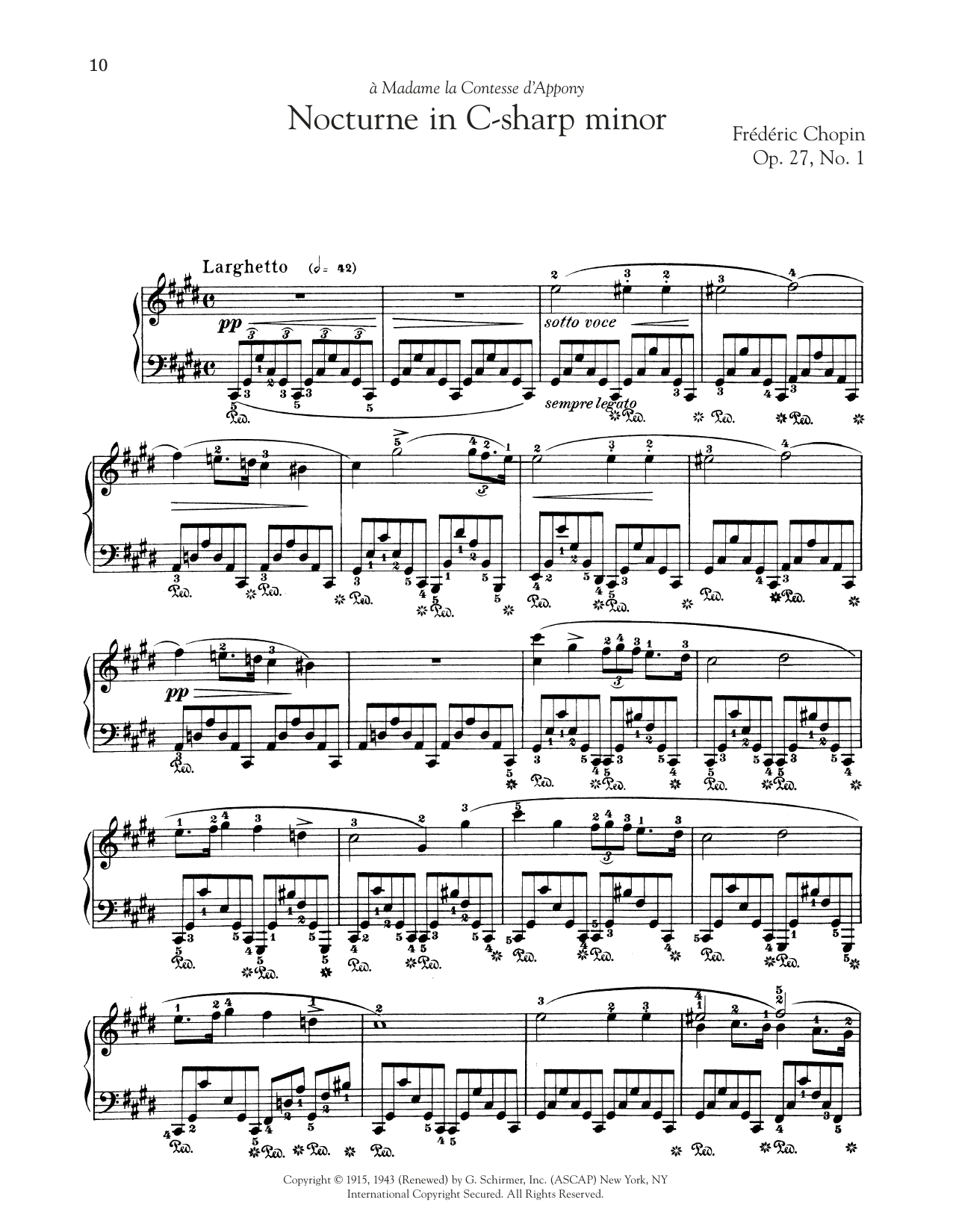 page one of Nocturne, Op. 27, No. 1ASALTTEXT