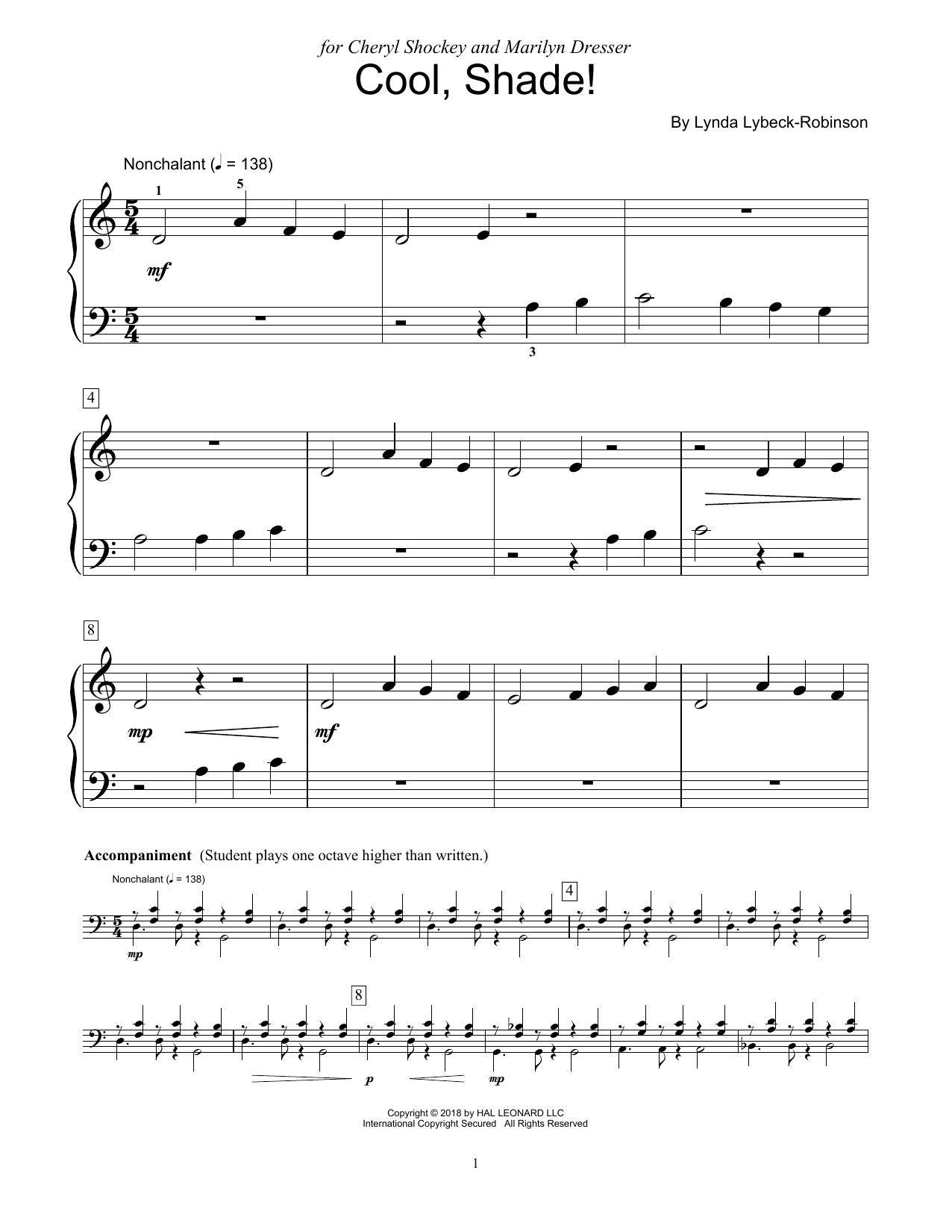 Cool, Shade! (Educational Piano)