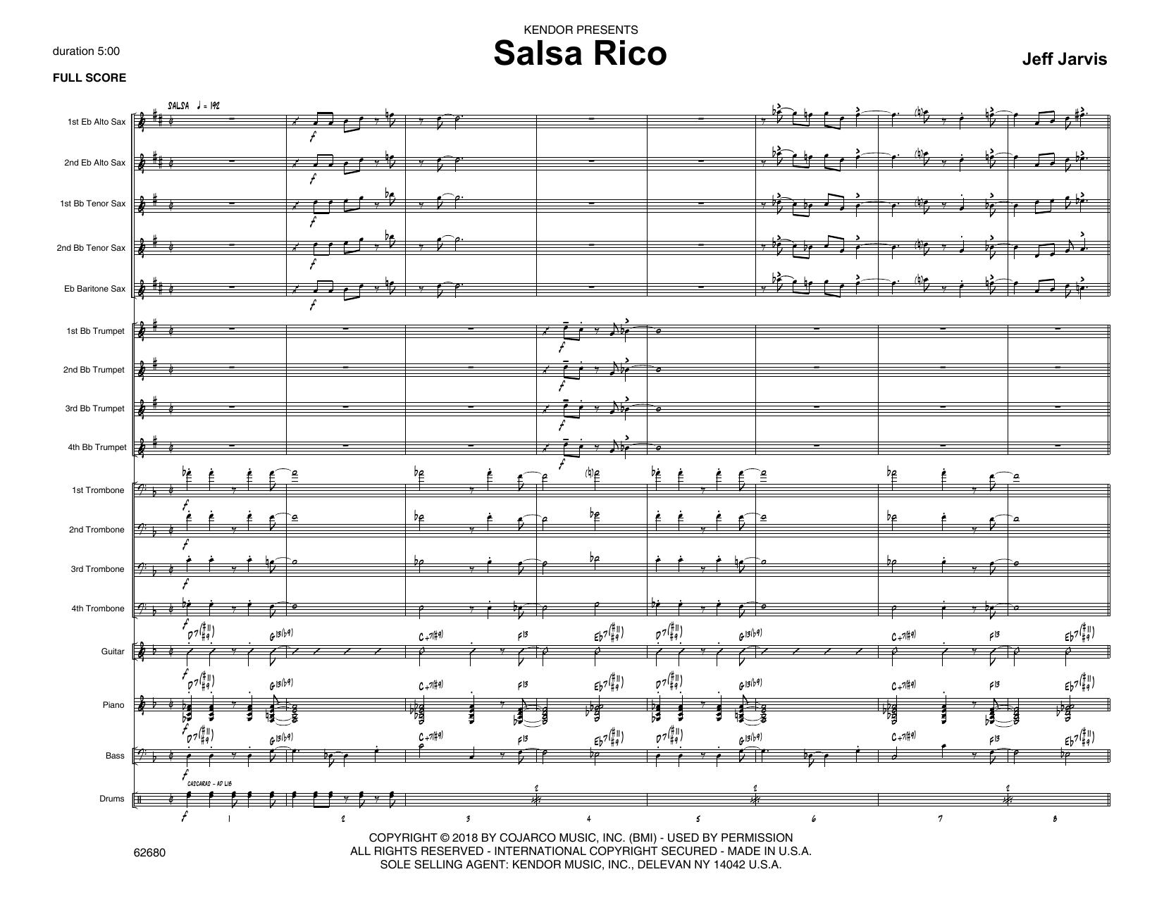 Salsa Rico - Band Music Download
