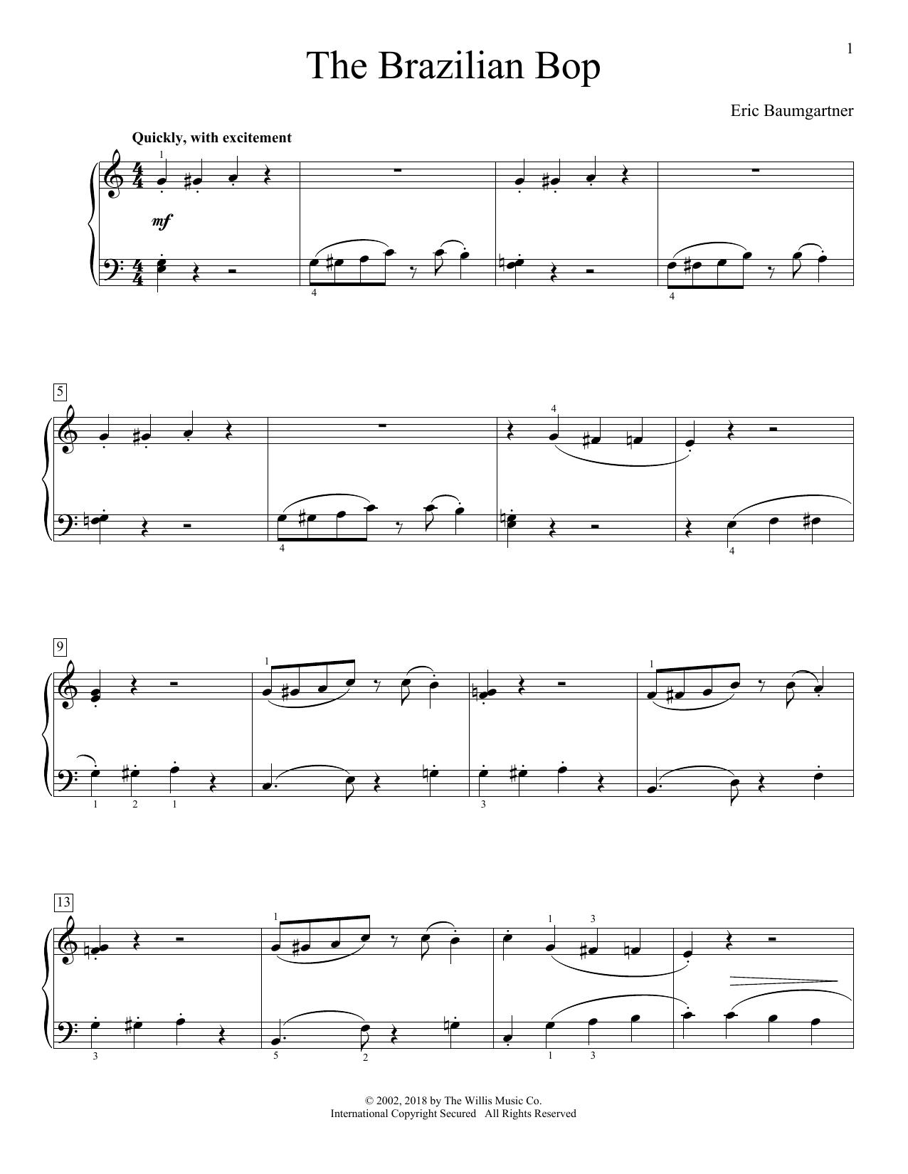 The Brazilian Bop (Educational Piano)
