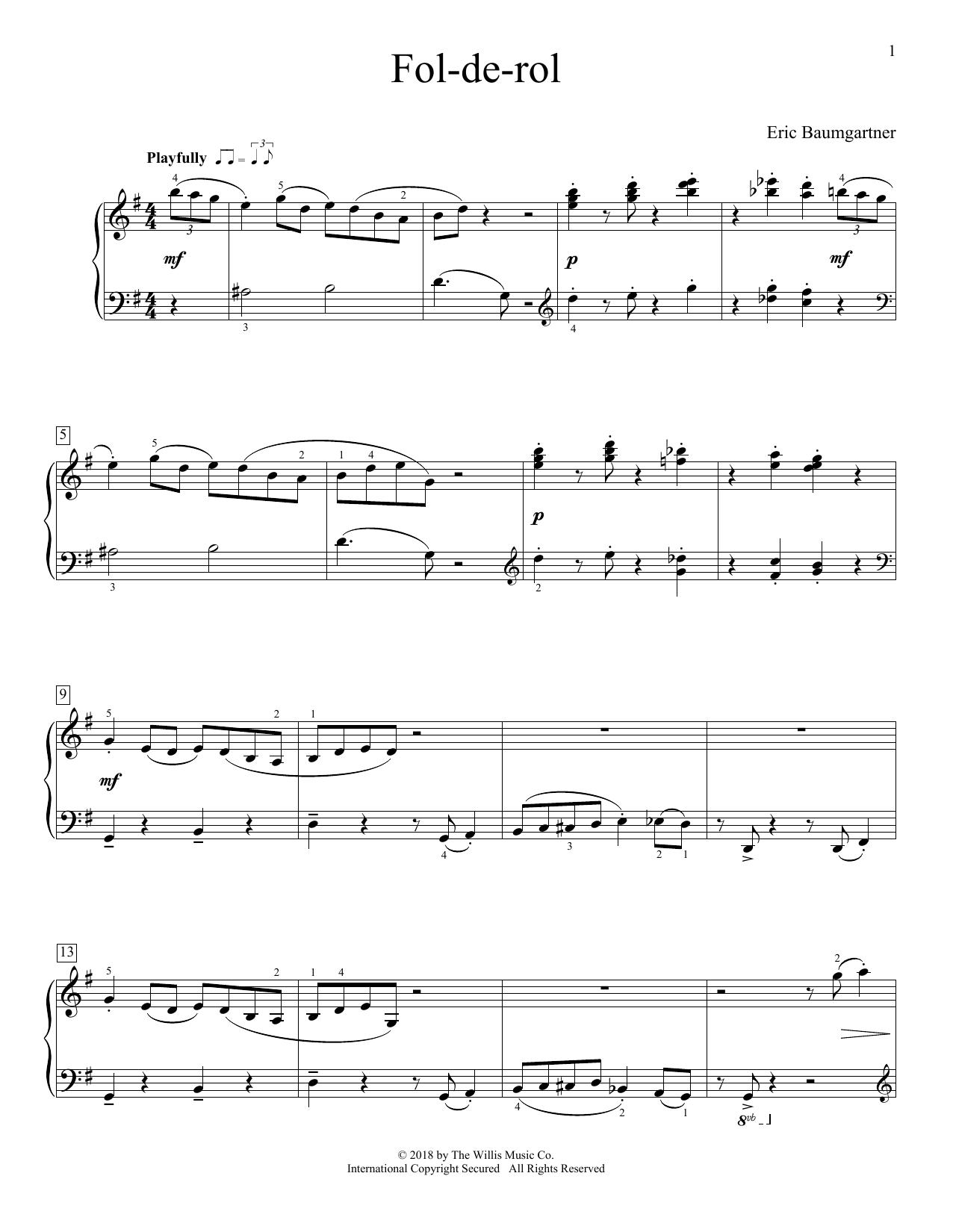 Fol-De-Rol (Educational Piano)