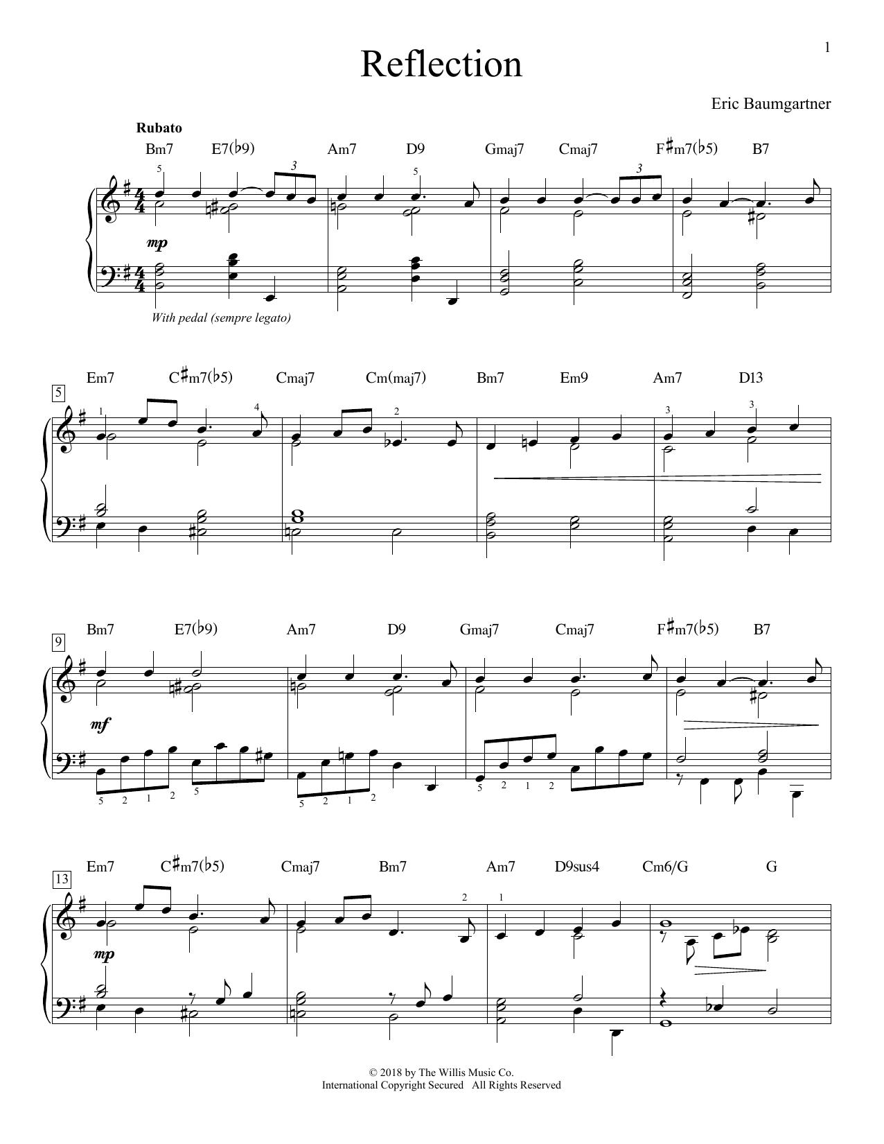Reflection (Educational Piano)