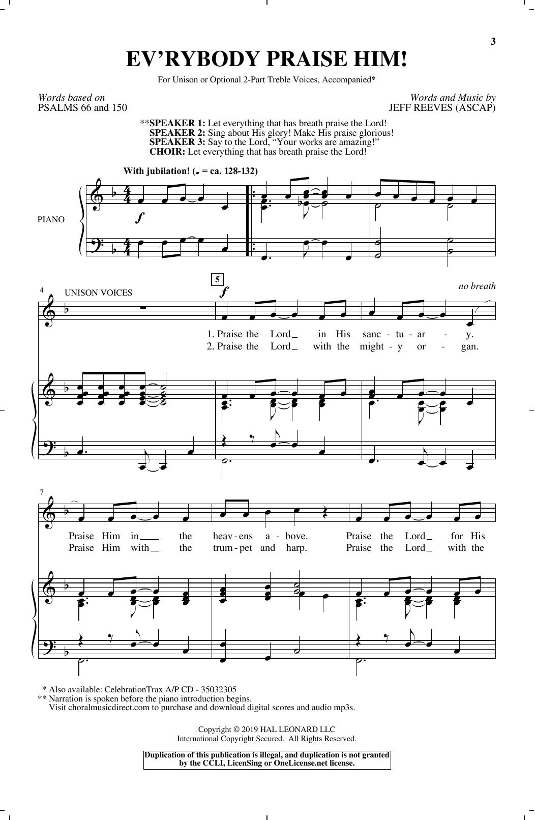Ev'rybody Praise Him! (Choir)