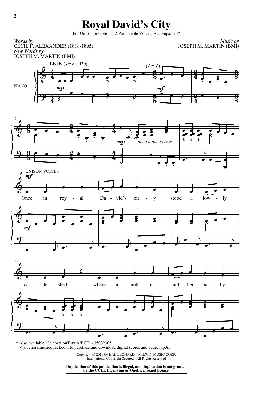 Royal David's City (Choir)