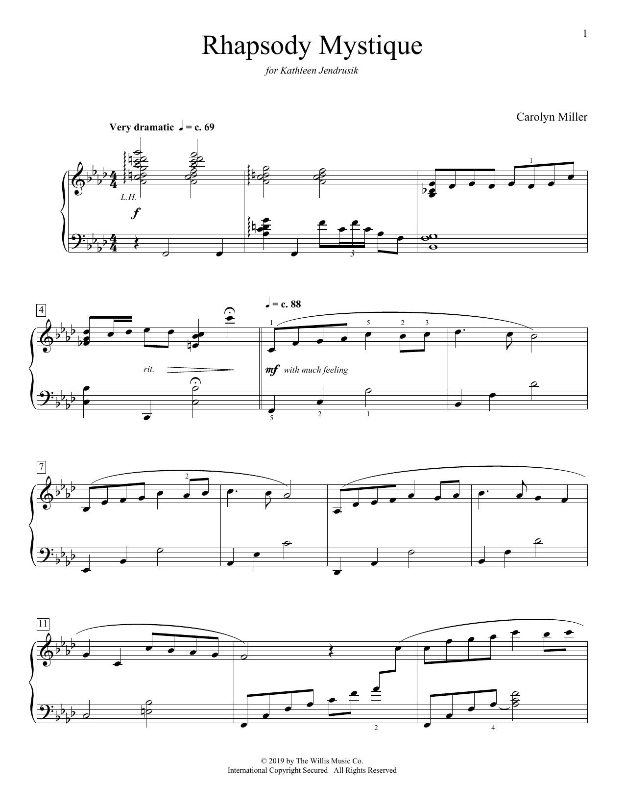 Rhapsody Mystique (Educational Piano)