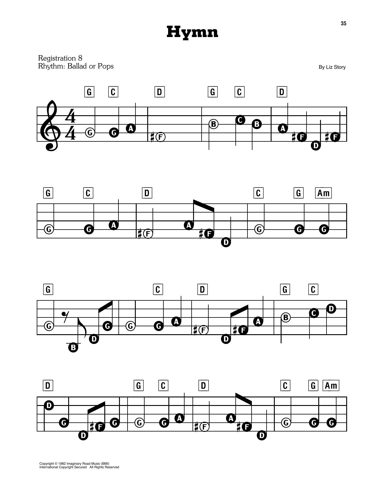 Hymn (E-Z Play Today)