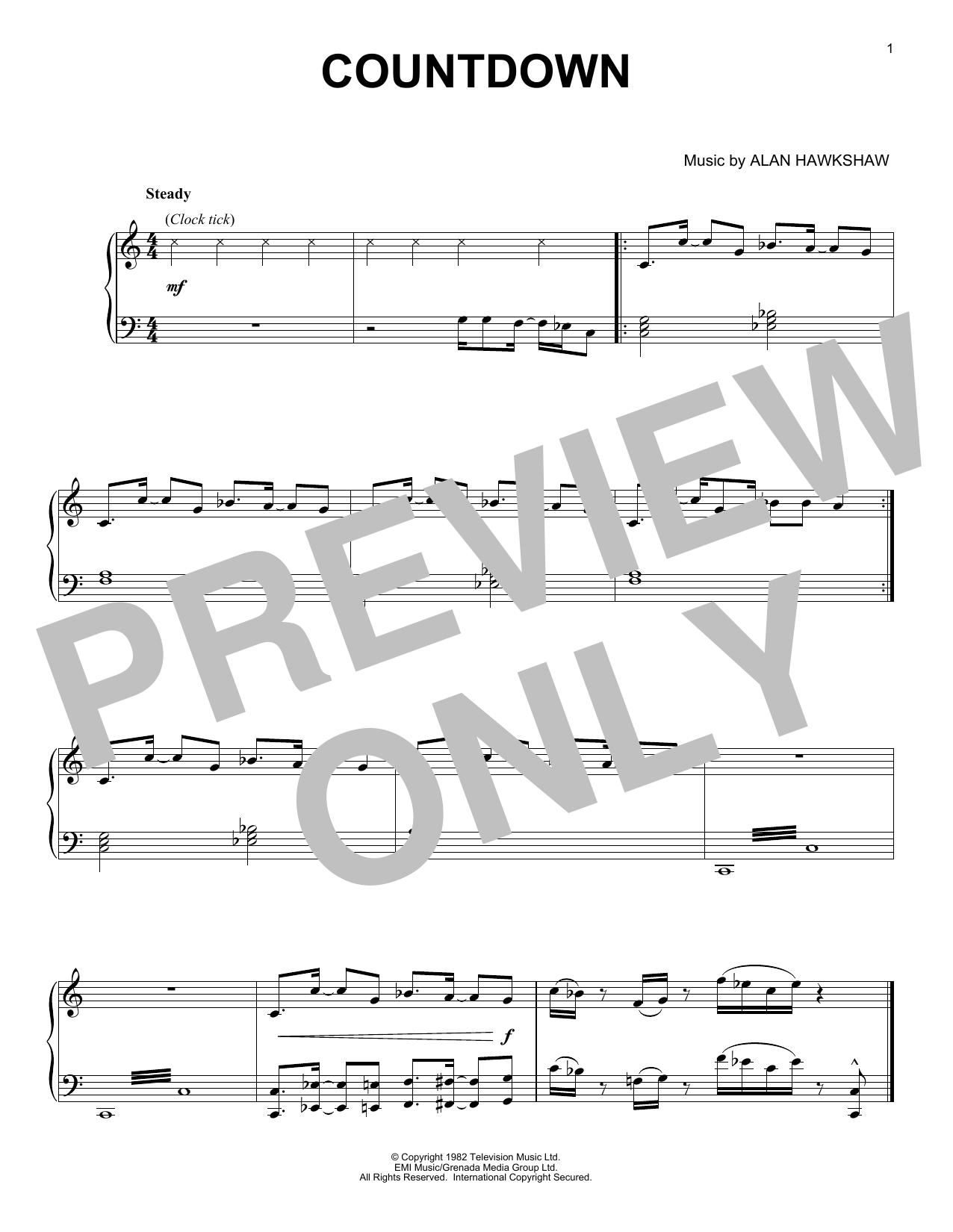 Countdown (Piano Solo)