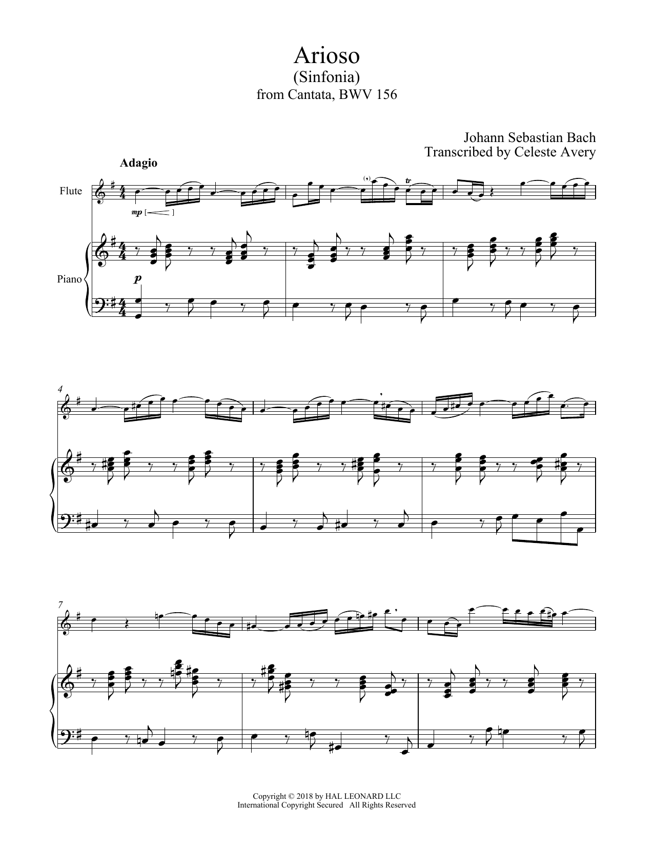 Arioso (Flute and Piano)