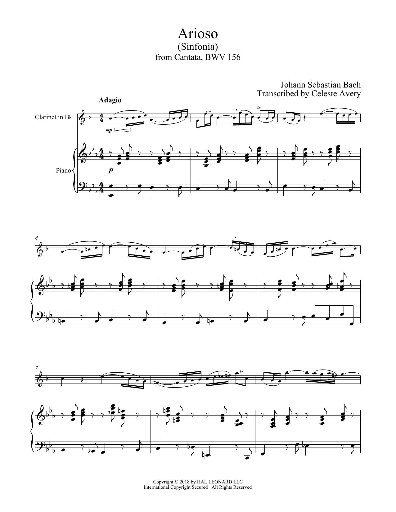 Arioso (Clarinet and Piano)