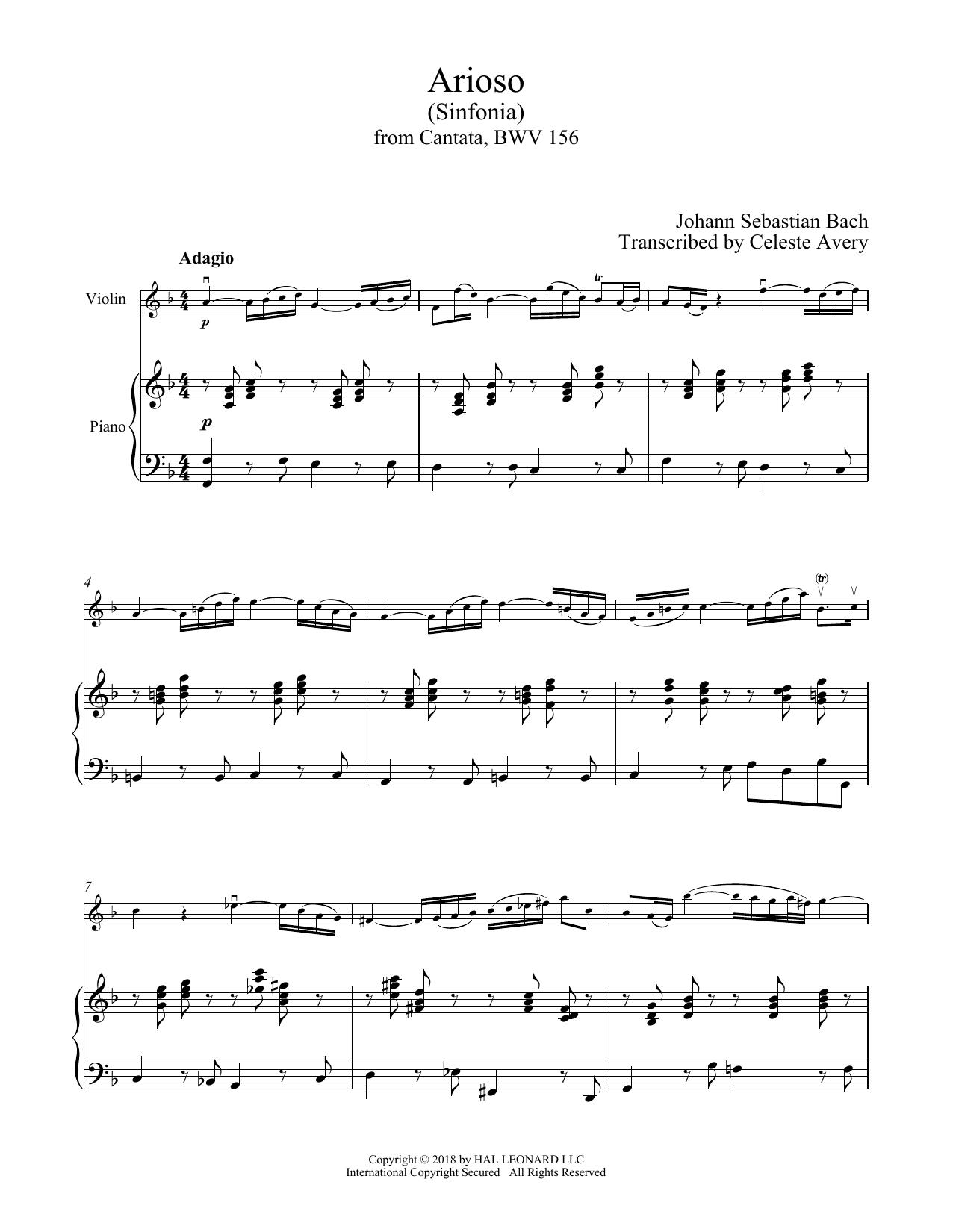Arioso (Violin and Piano)