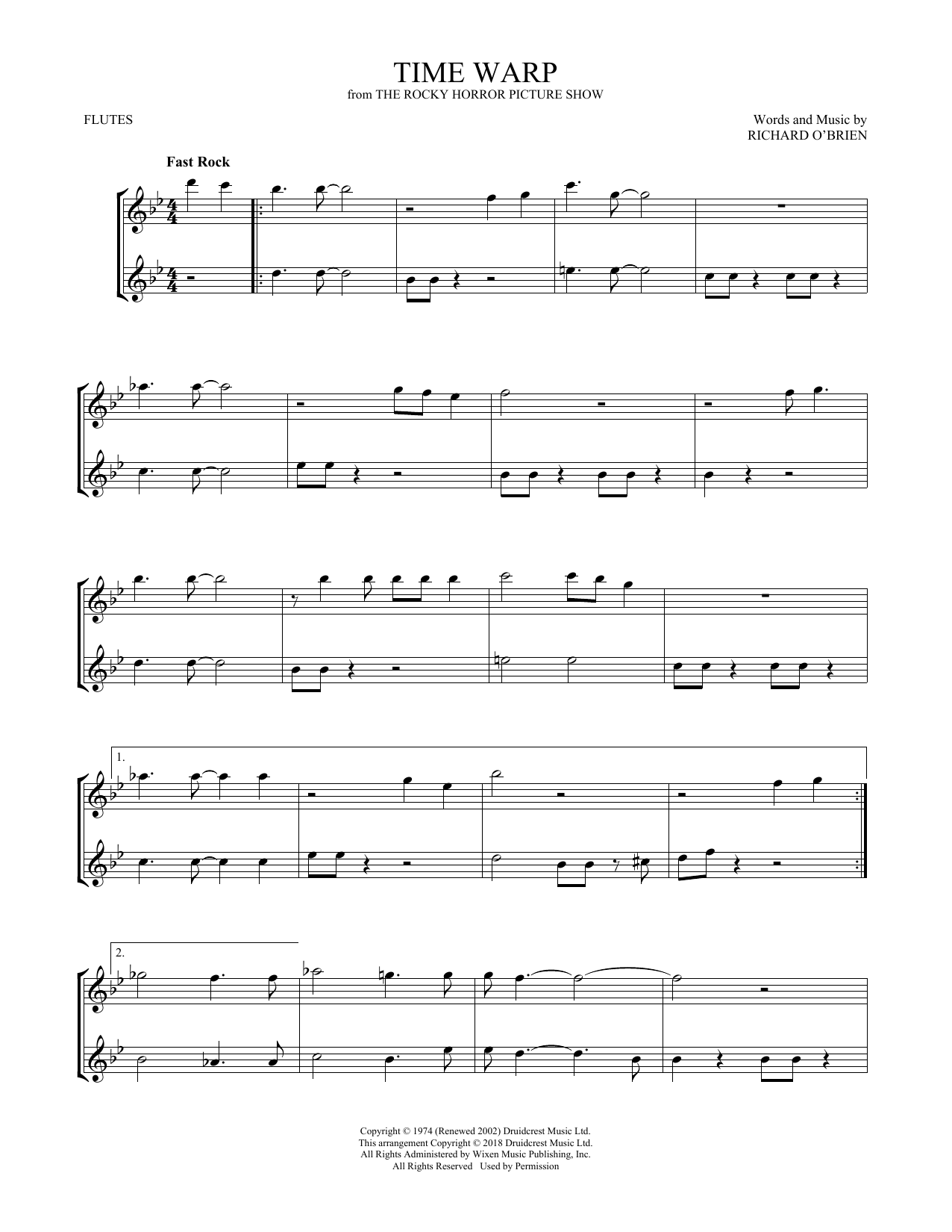Time Warp (Flute Duet)