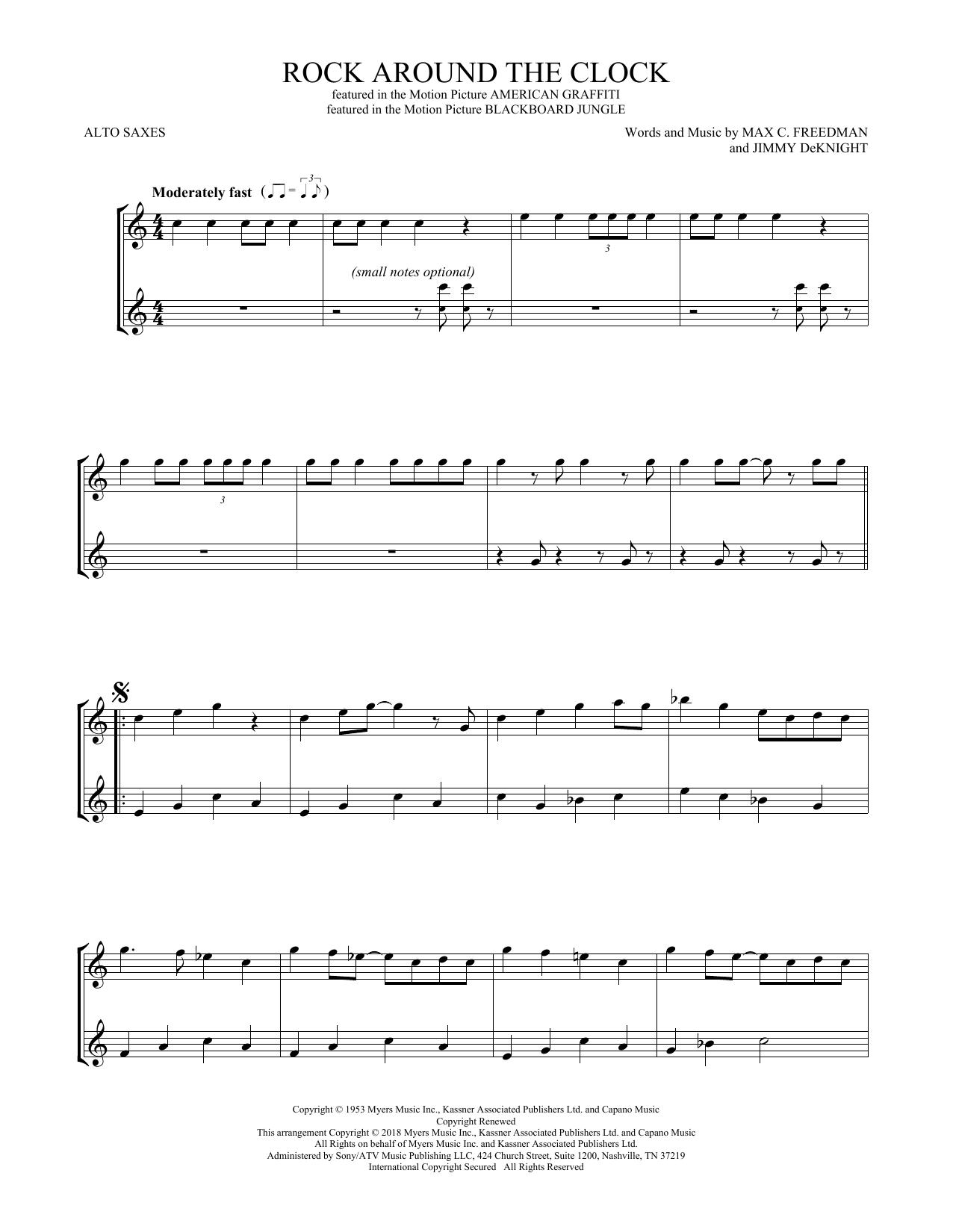 Rock Around The Clock (Alto Sax Duet)