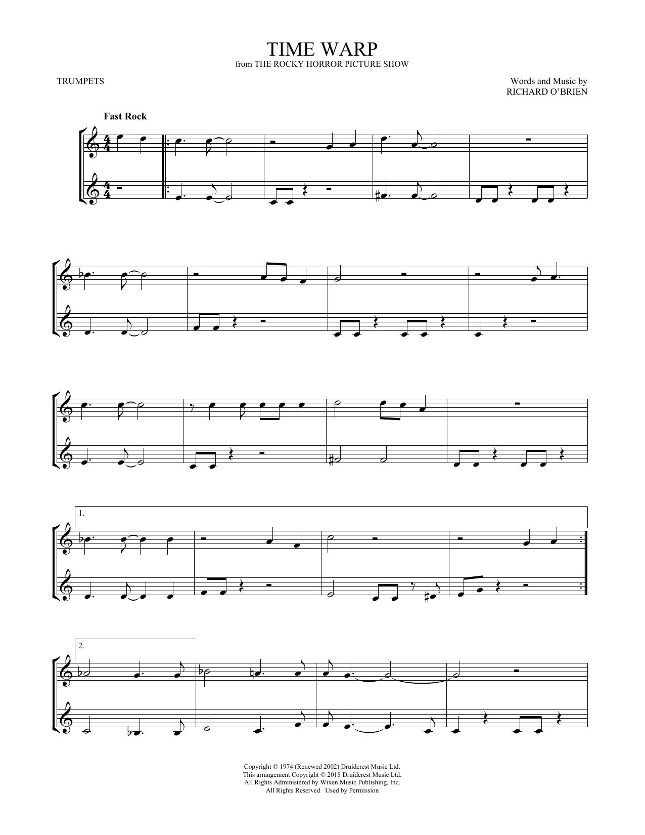 Time Warp (Trumpet Duet)