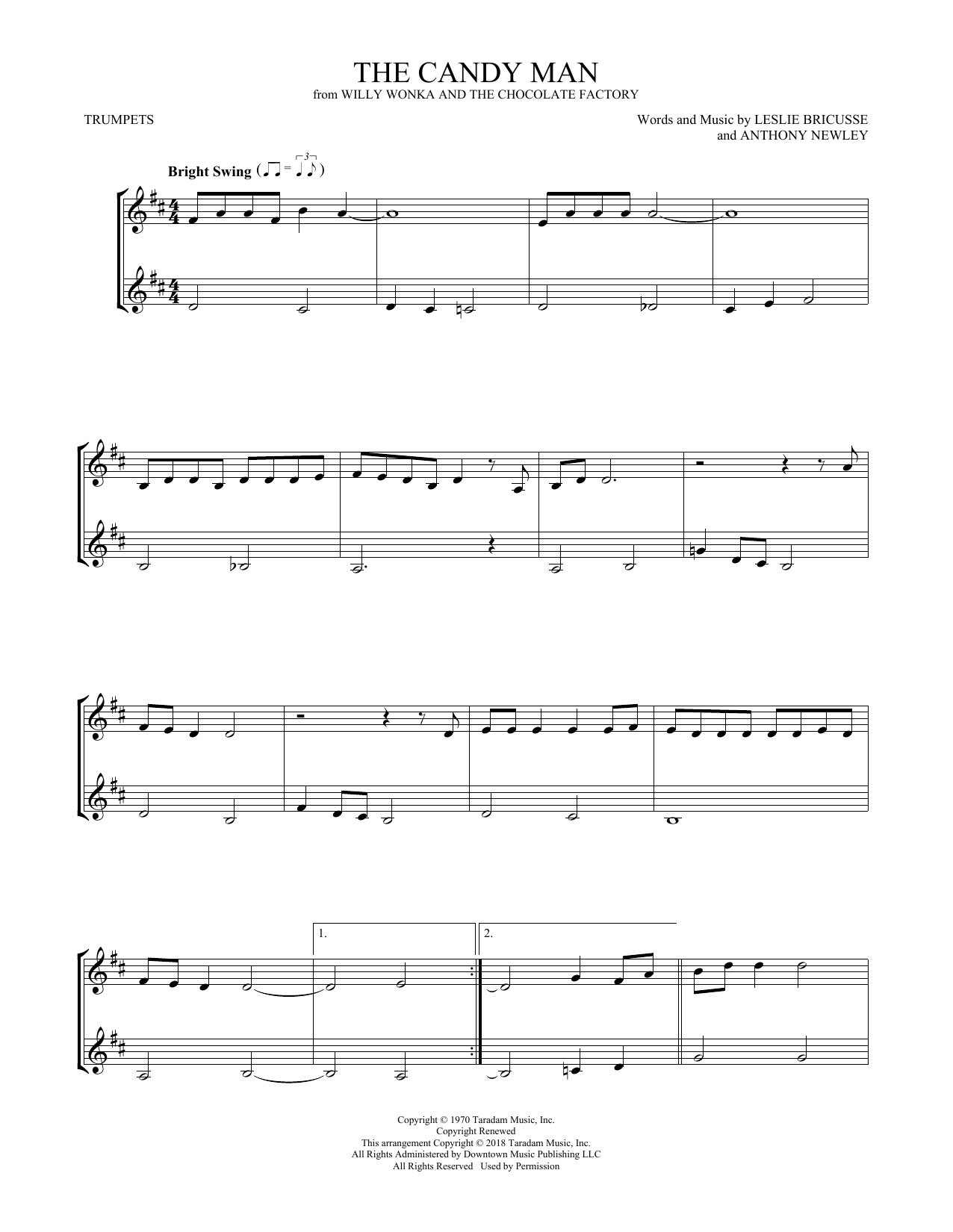 The Candy Man (Trumpet Duet)