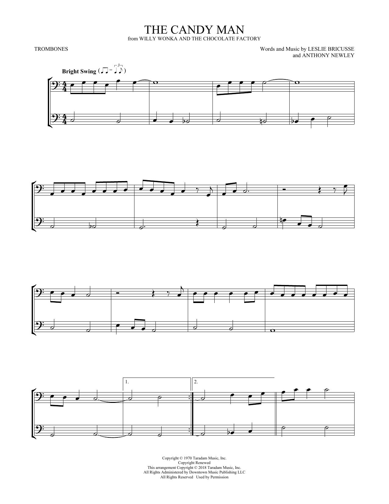 The Candy Man (Trombone Duet)