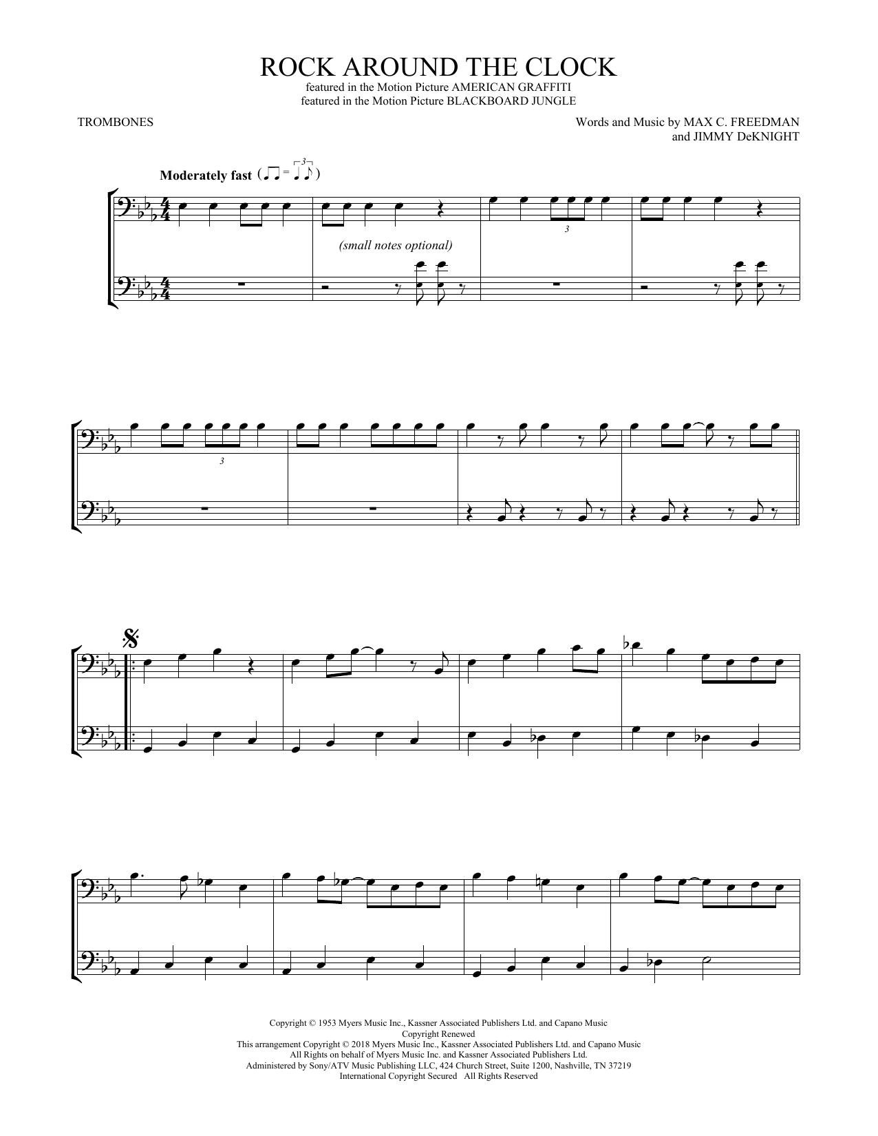 Rock Around The Clock (Trombone Duet)