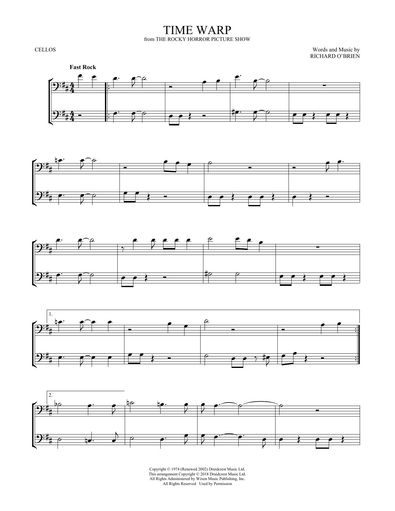 Time Warp (Cello Duet)