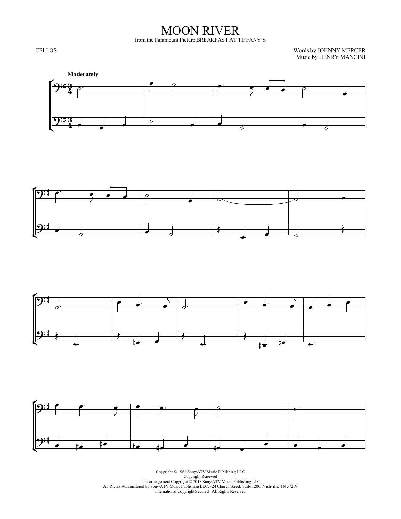 Moon River (Cello Duet)