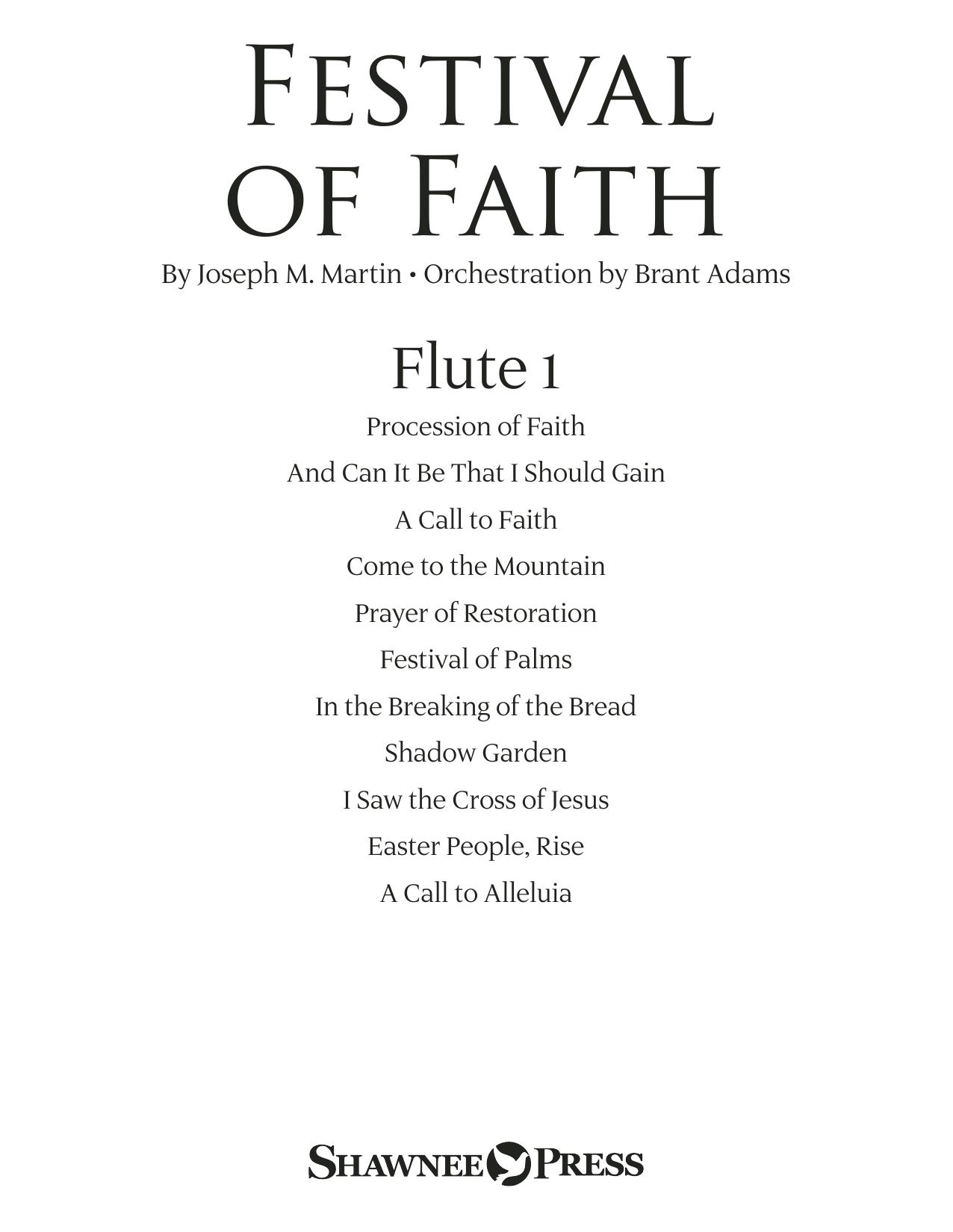 Festival of Faith - Flute 1 (Choir Instrumental Pak)