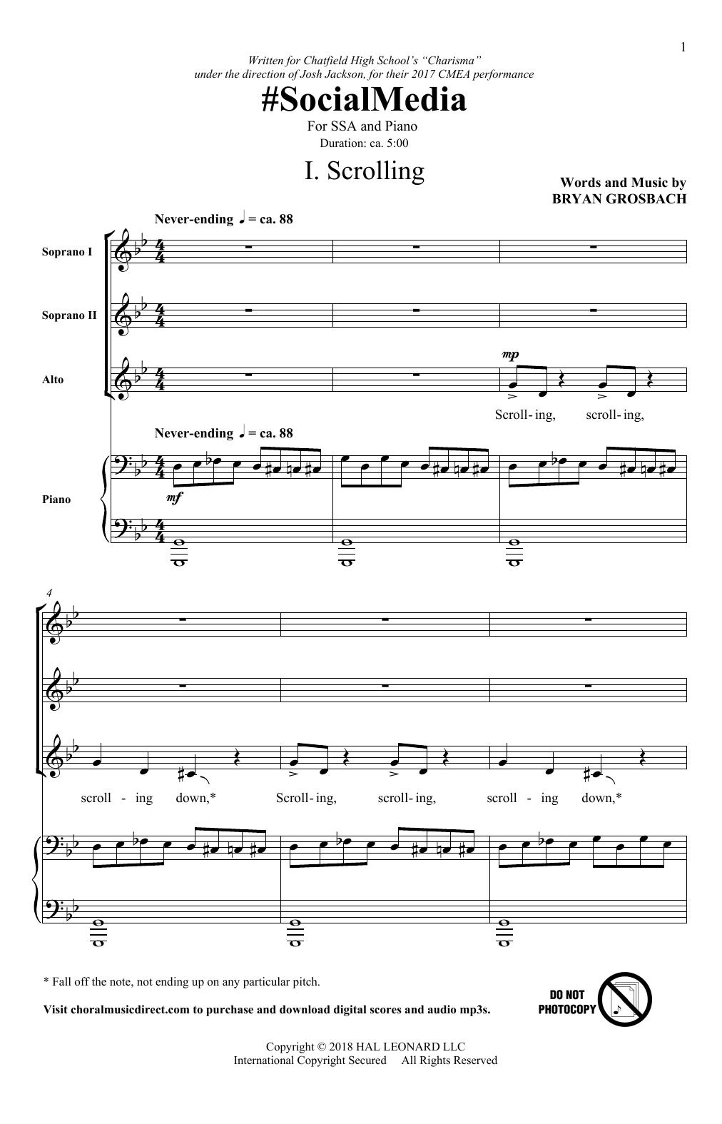 #SocialMedia (SSA Choir)