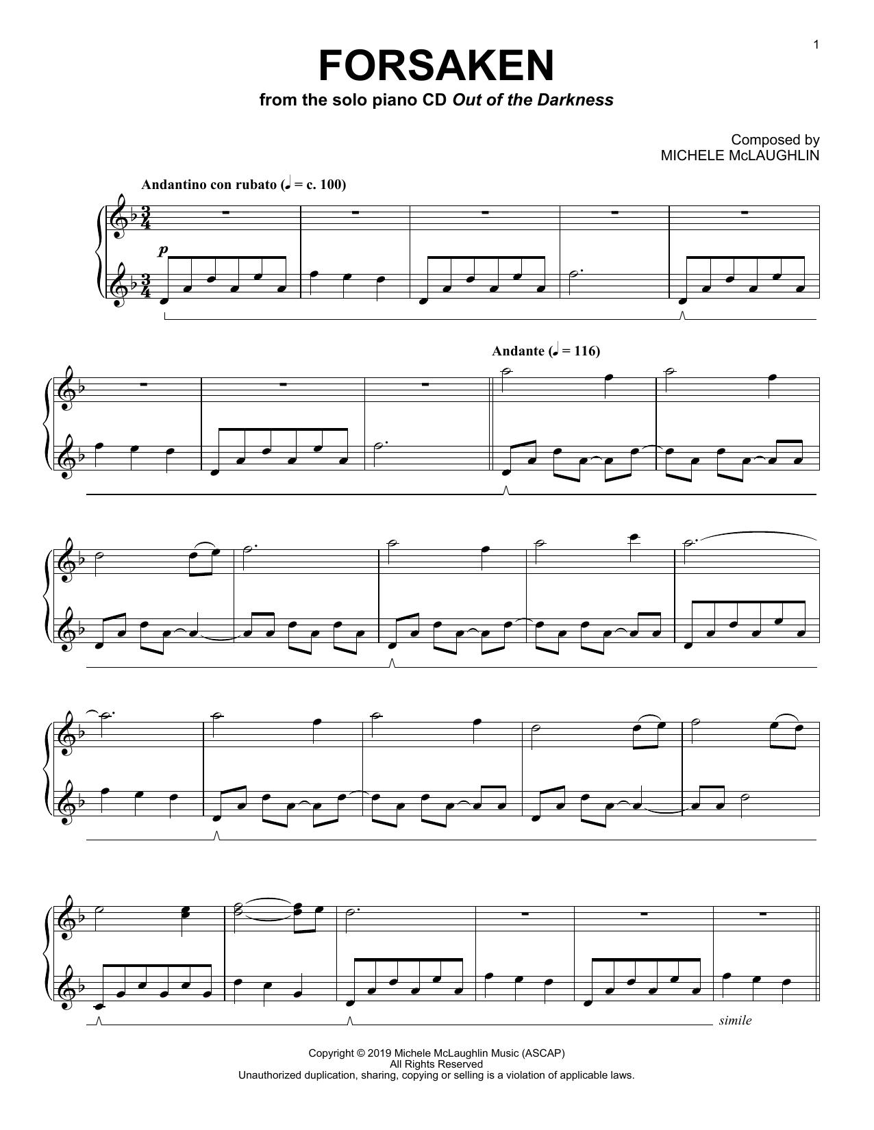 Forsaken (Piano Solo)