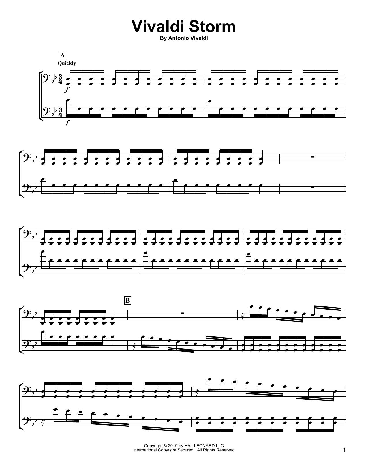 Vivaldi Storm (Cello Duet)