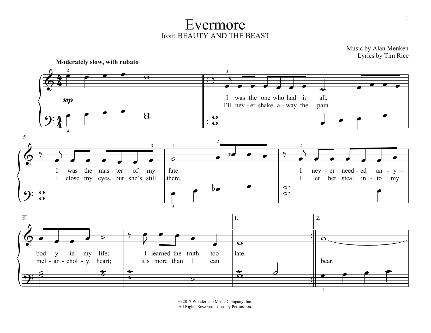 Evermore (Educational Piano)