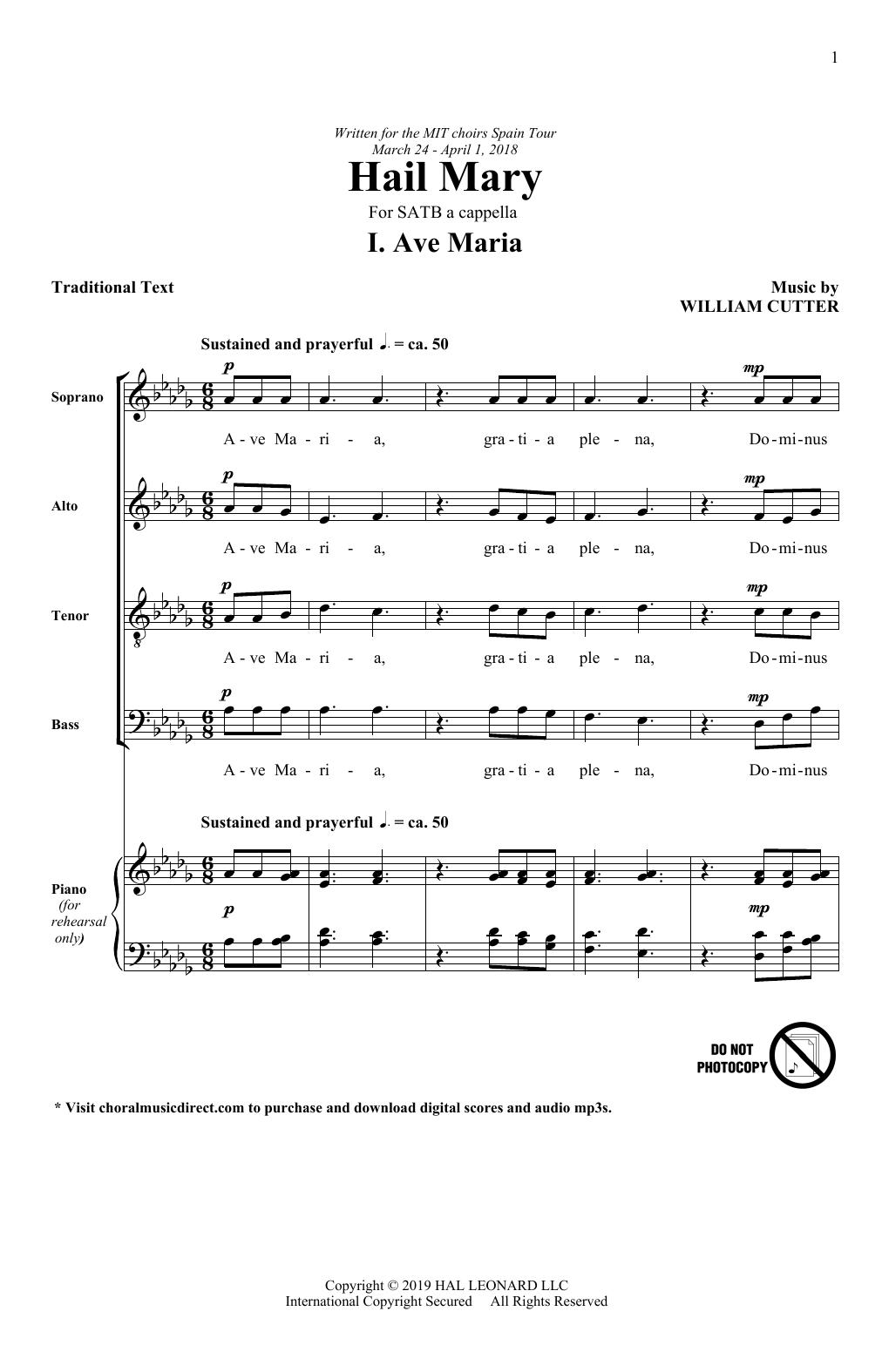 Ave Maria (SATB Choir)