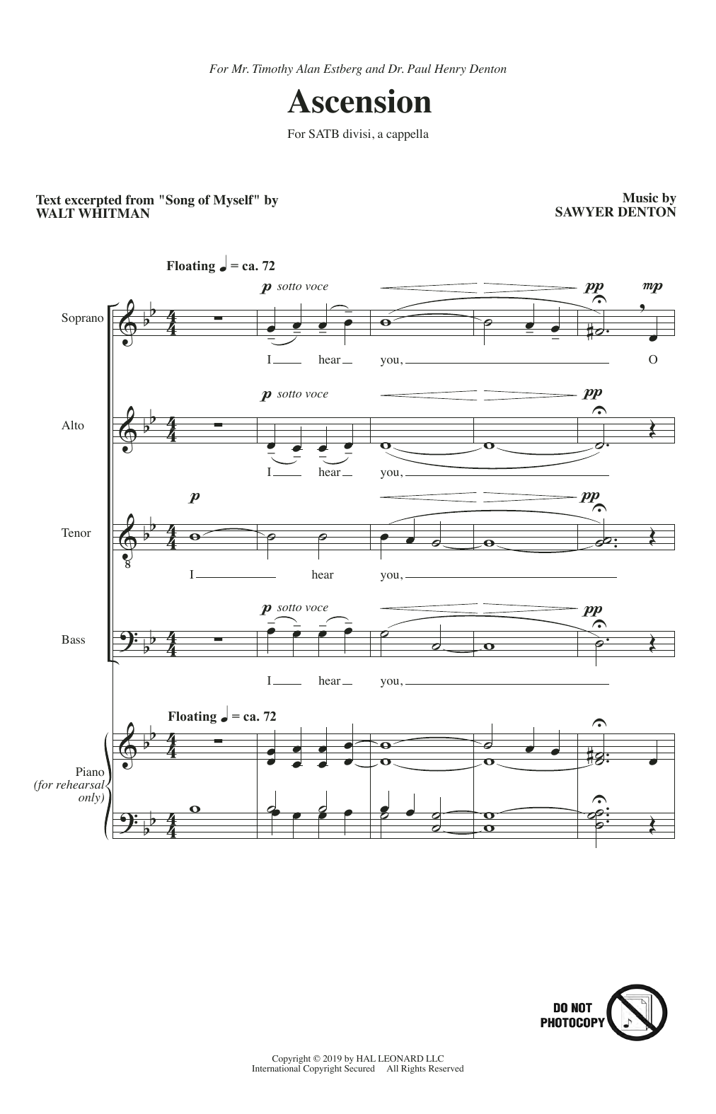 Ascension (SATB Choir)