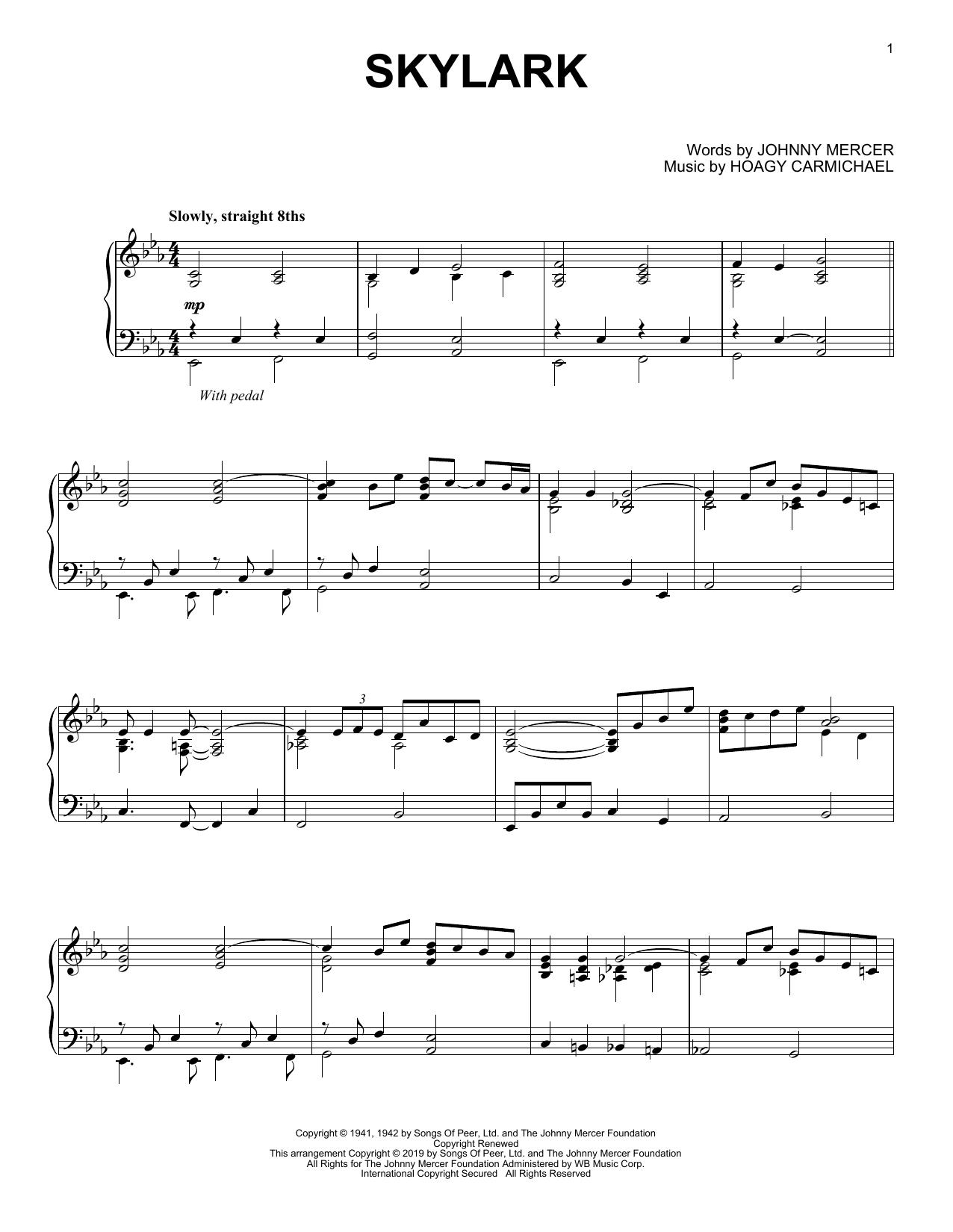 Skylark (Piano Solo)