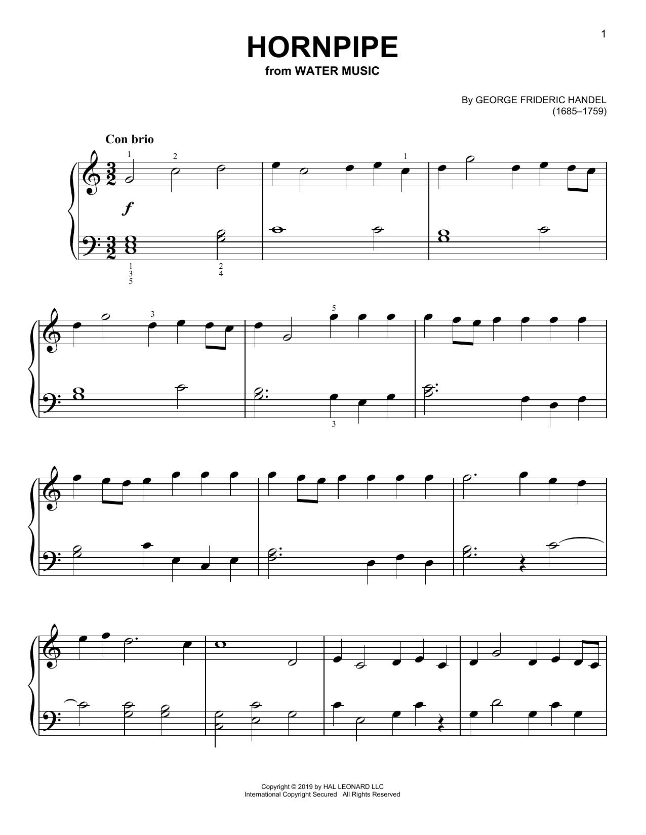 Hornpipe (Easy Piano)