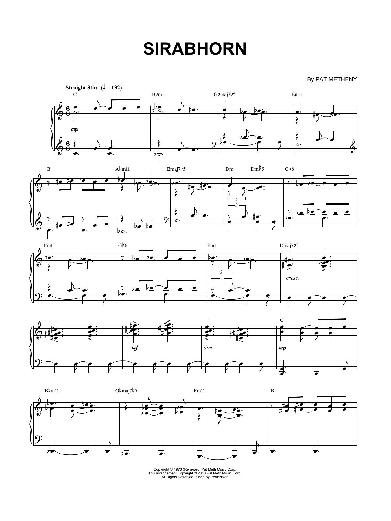 Sirabhorn (Piano Solo)