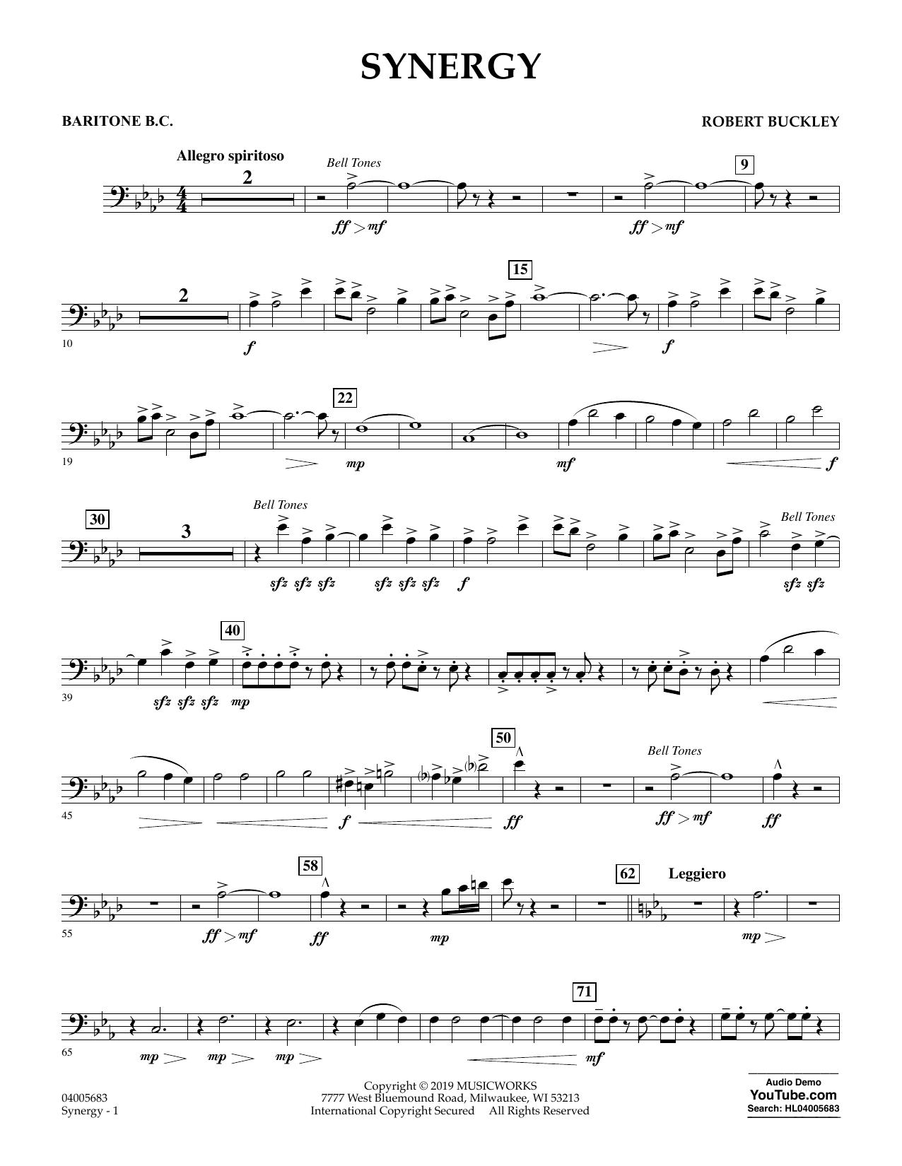 Synergy - Baritone B.C. (Concert Band)