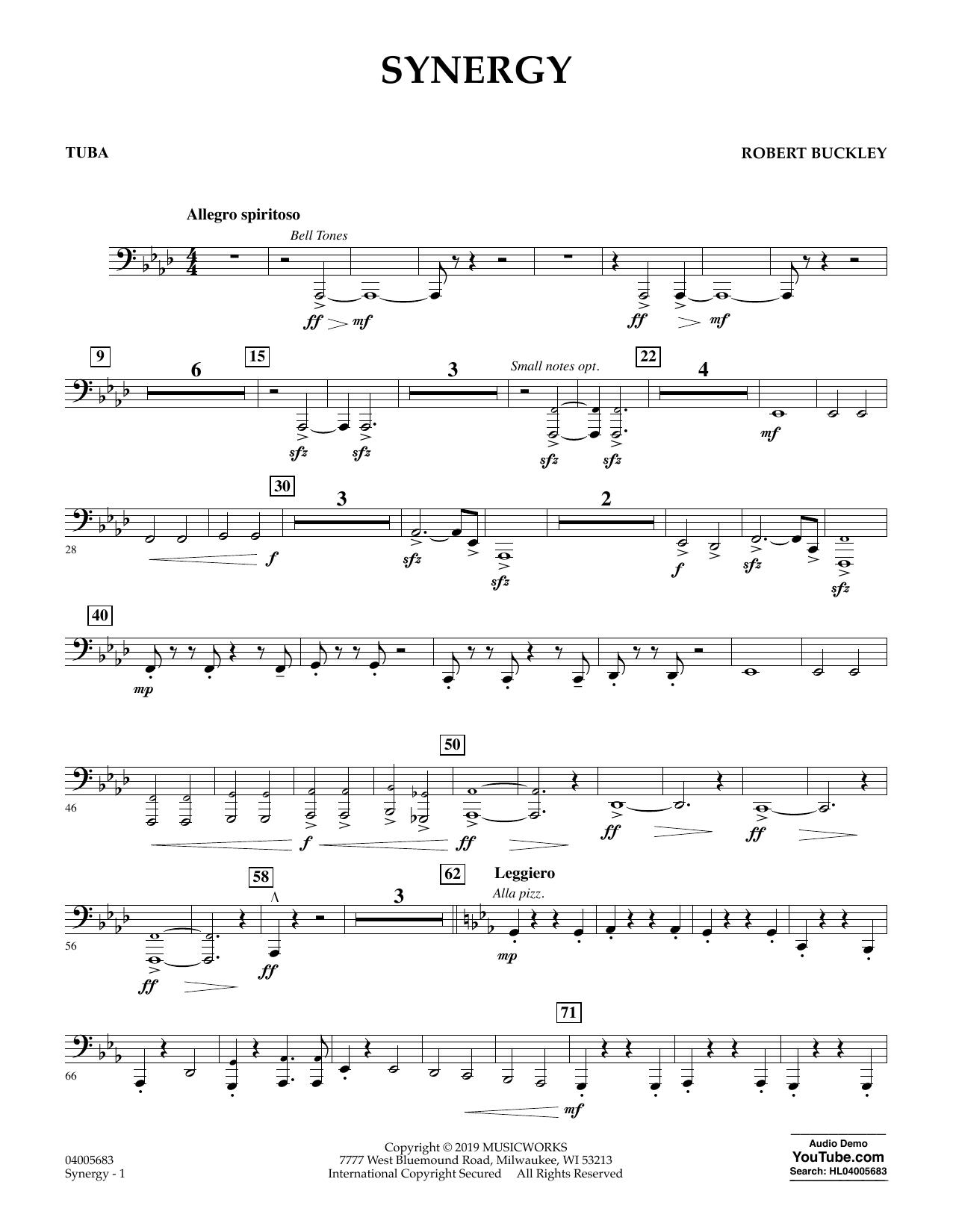 Synergy - Tuba (Concert Band)