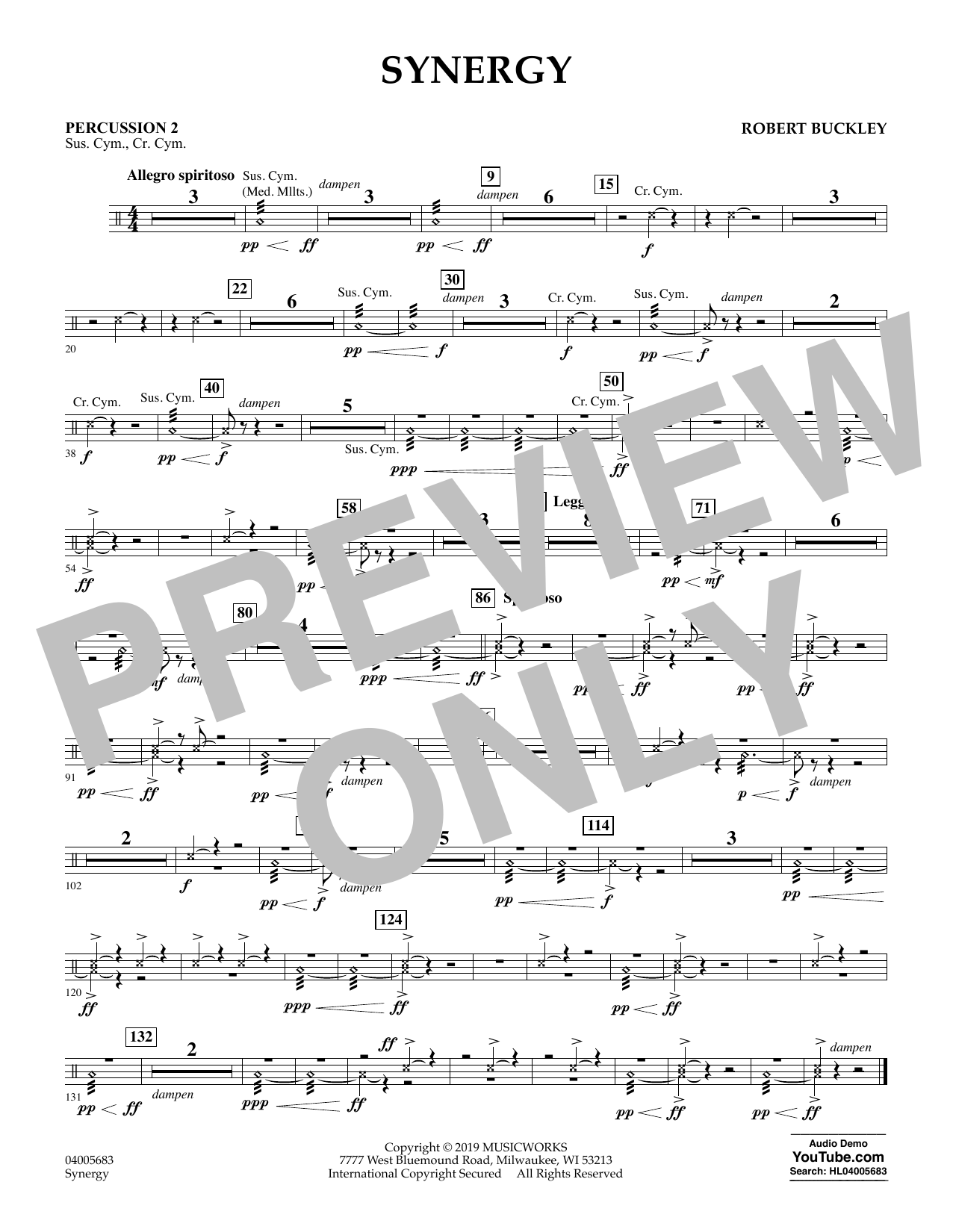 Synergy - Percussion 2 (Concert Band)