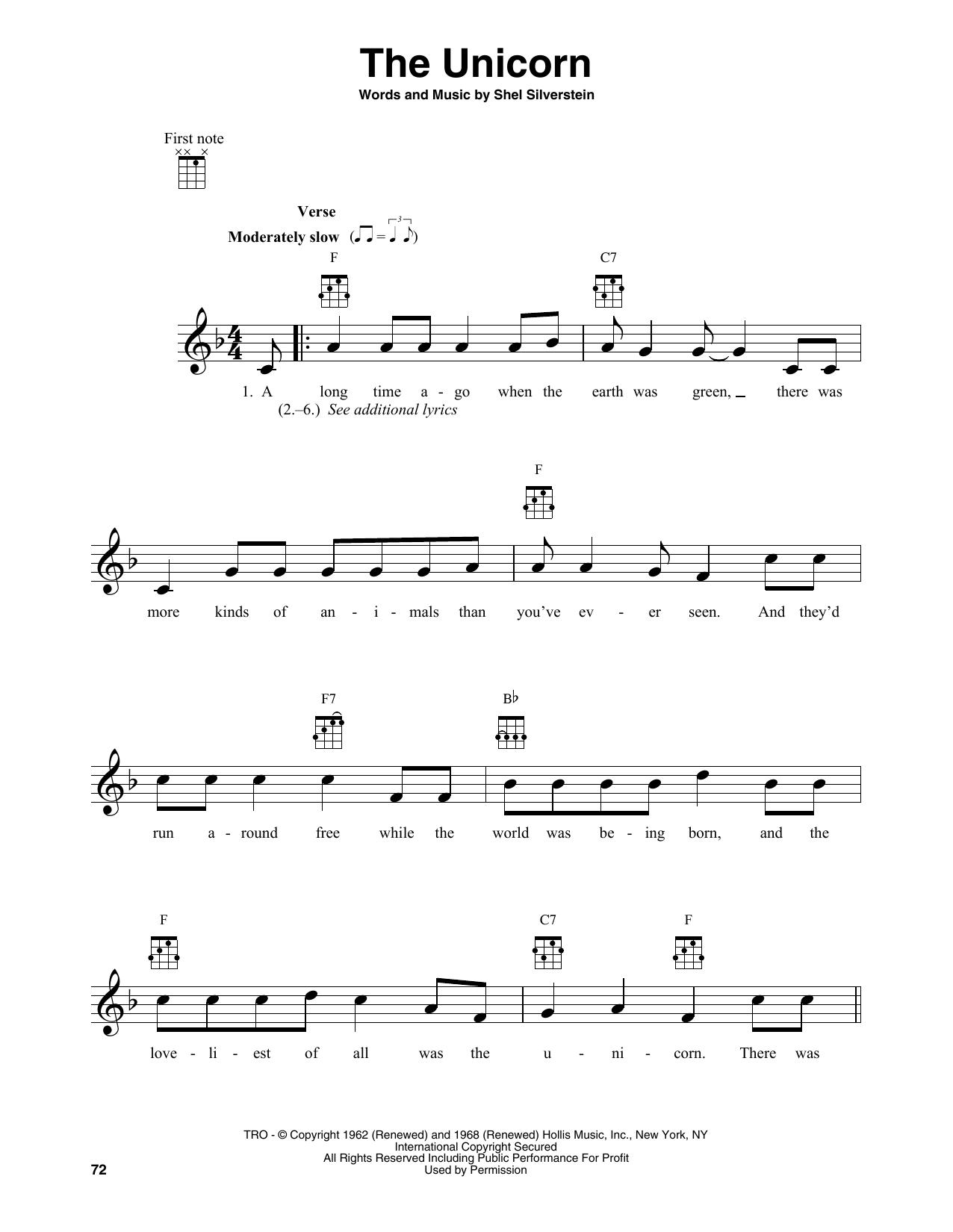 The Unicorn (Banjo Tab)