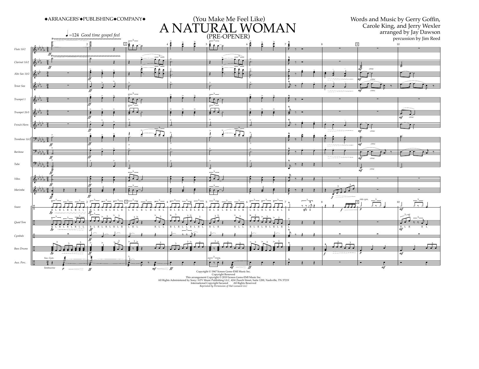 You Make Me Feel Like) A Natural Woman (Pre-Opener) (arr  Jay Dawson