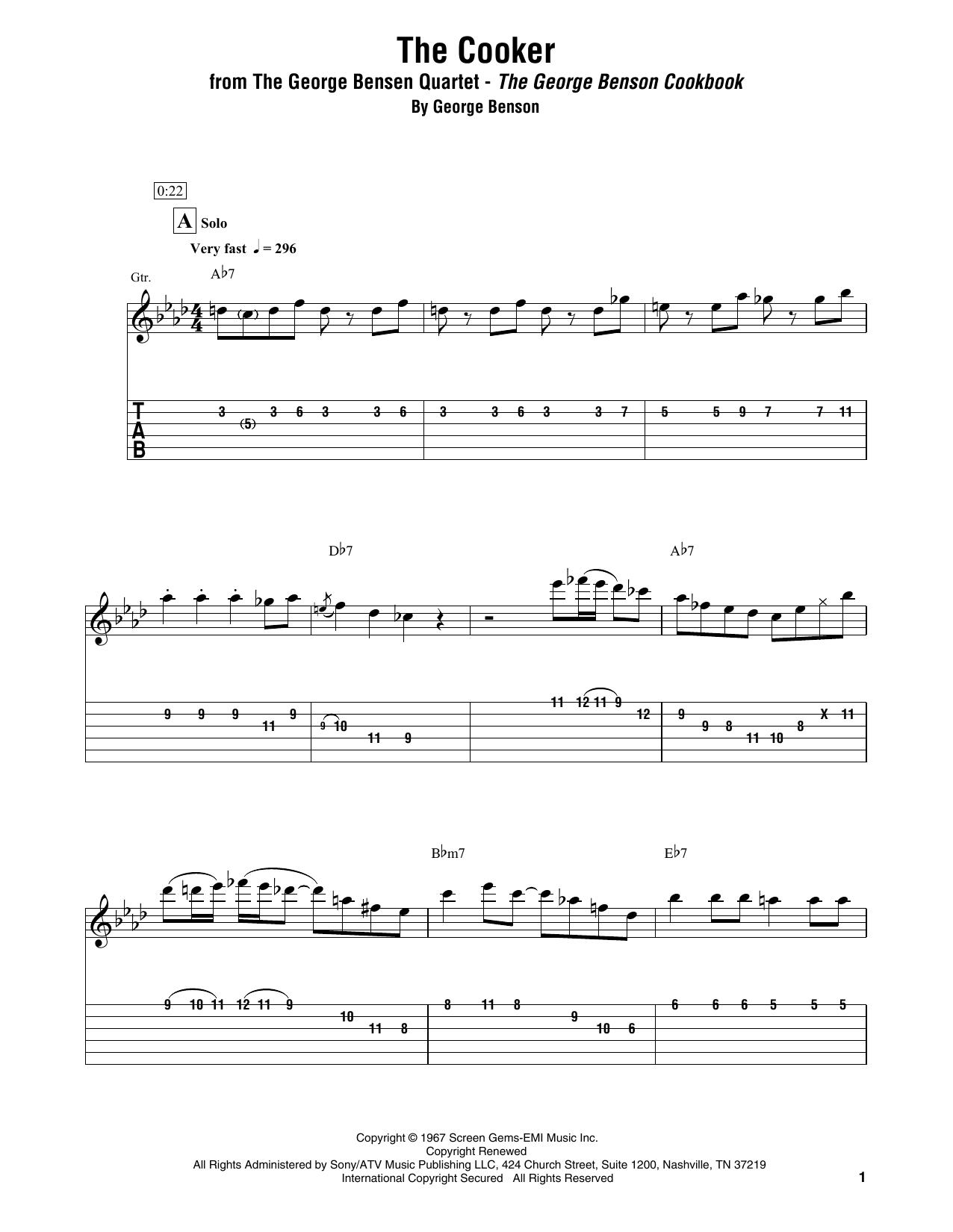 The Cooker Sheet Music