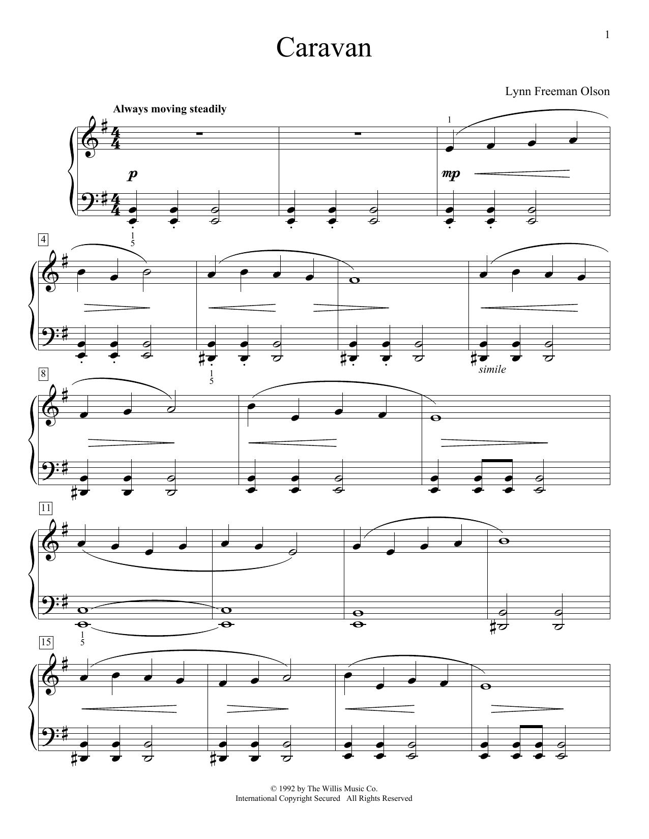 Caravan (Educational Piano)