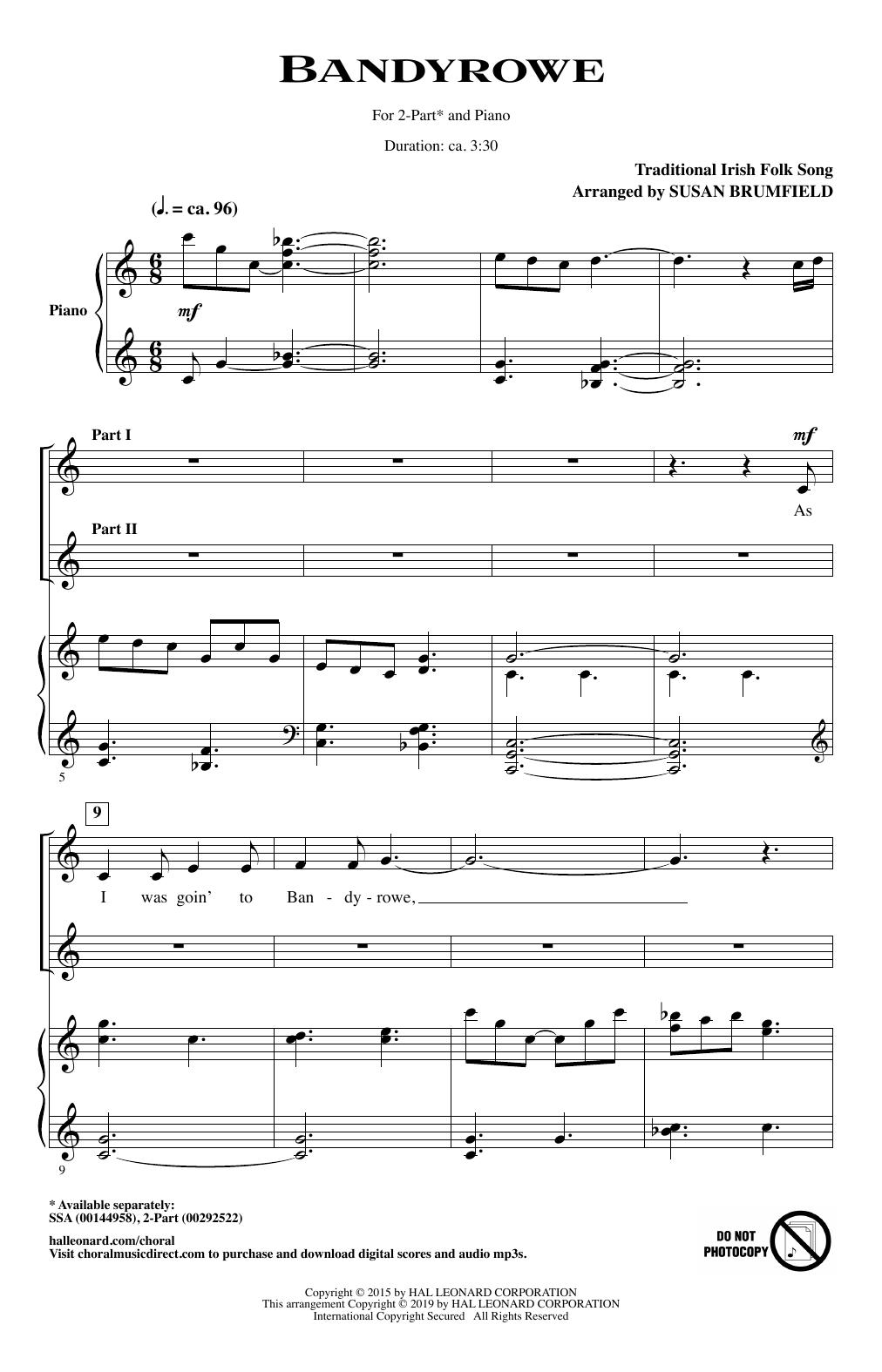 Bandyrowe (arr. Susan Brumfield) (2-Part Choir)