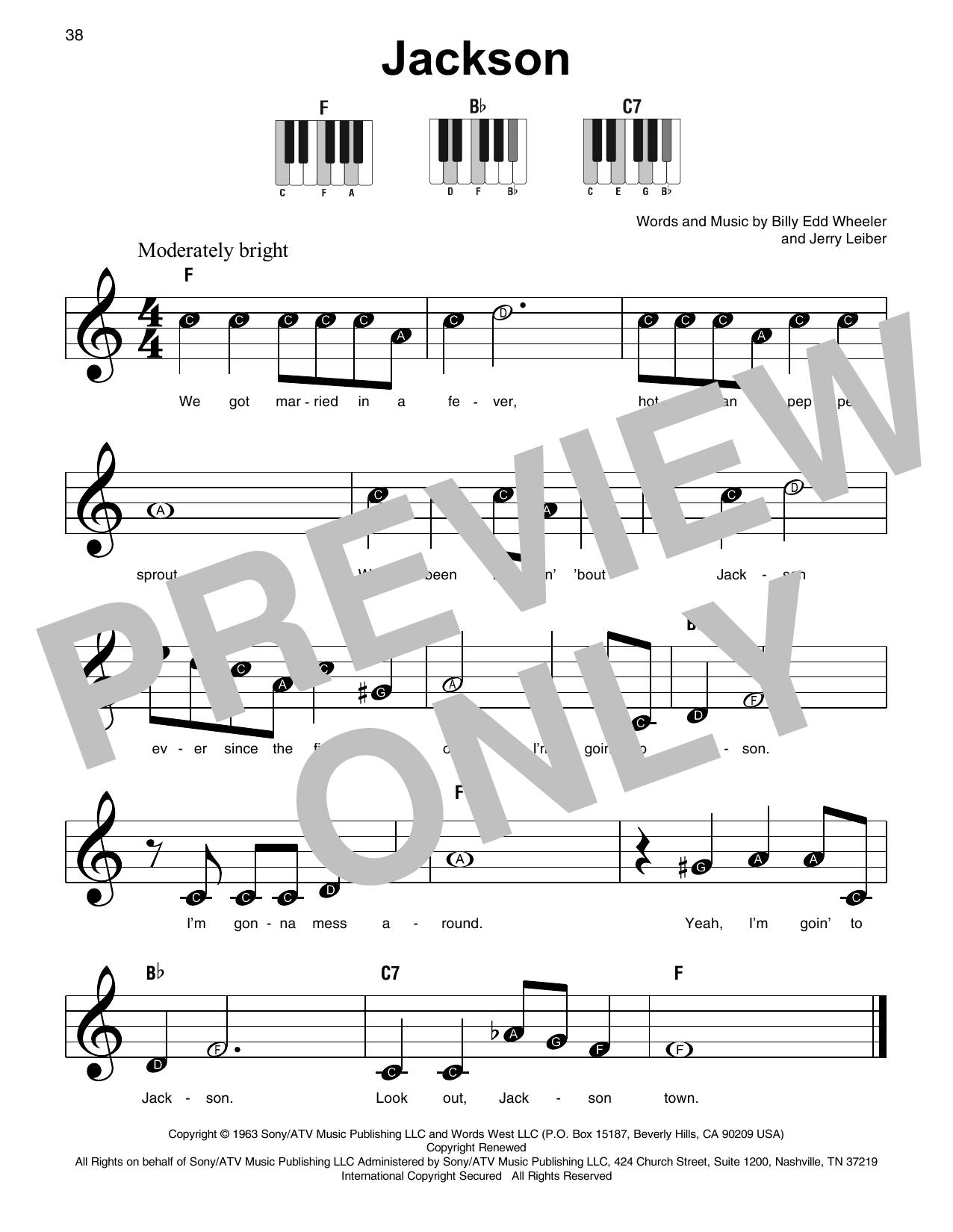 Jackson (Super Easy Piano)