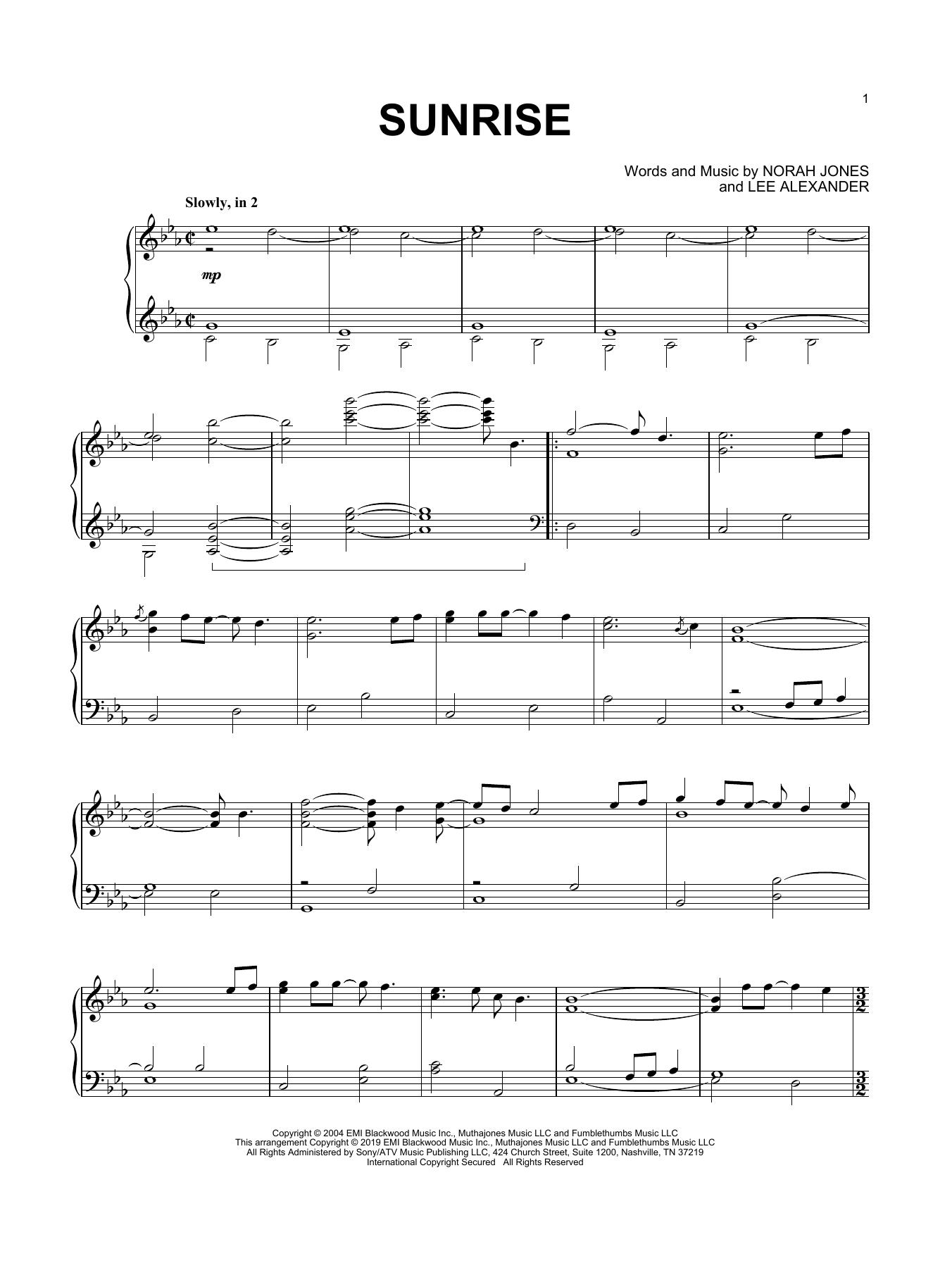 Sunrise (Piano Solo)