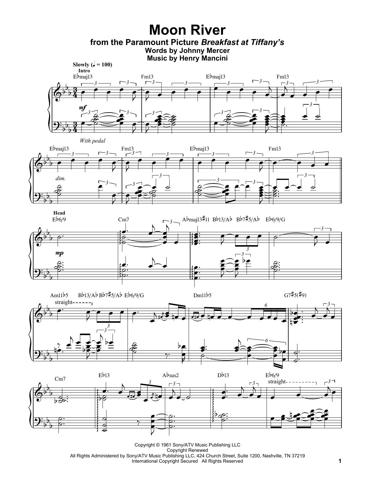 Moon River (Piano Transcription)